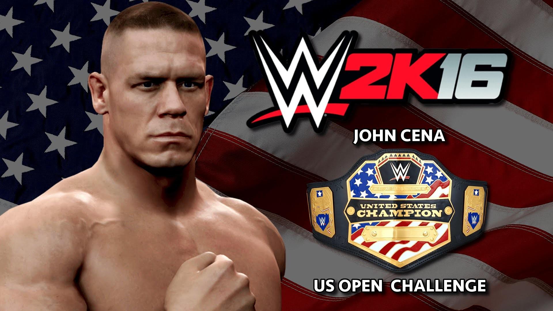 WWE 2K16 John Cena U.S Open Challenge Teaser Trailer (Concept)