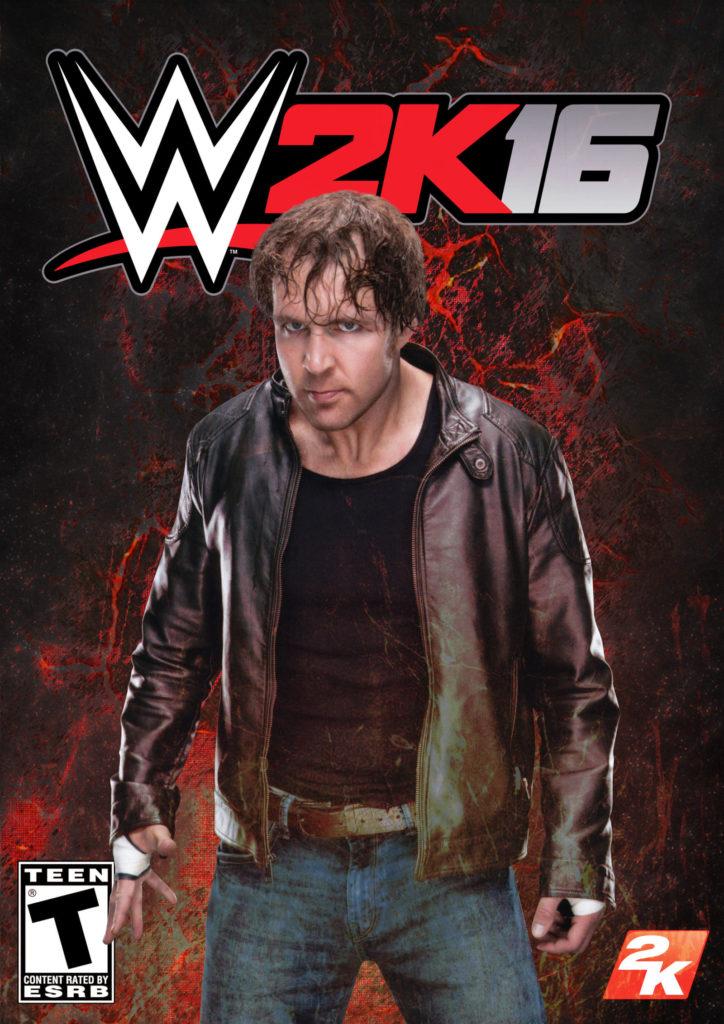 … WWE 2K16 Custom Cover Dean Ambrose by MilanRKO