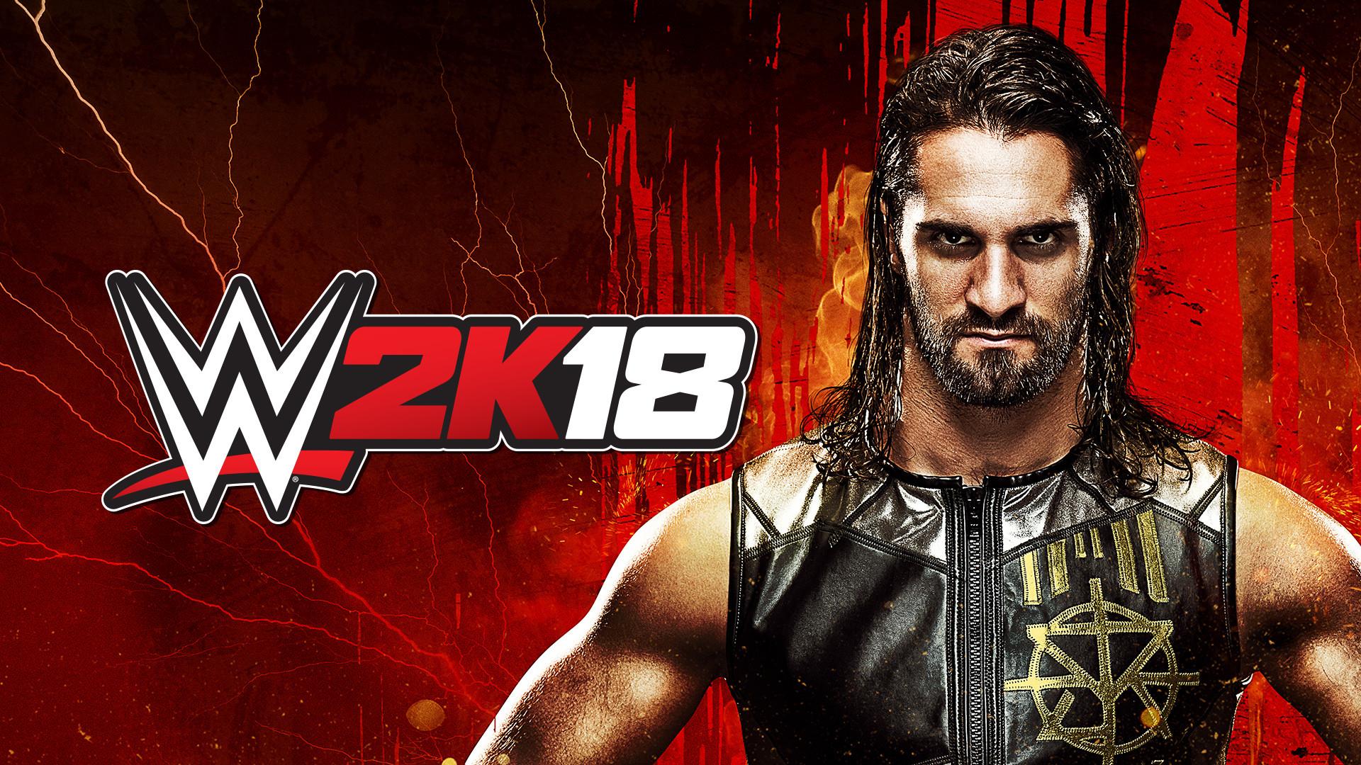 WWE2K18 Wallpaper Seth Rollins