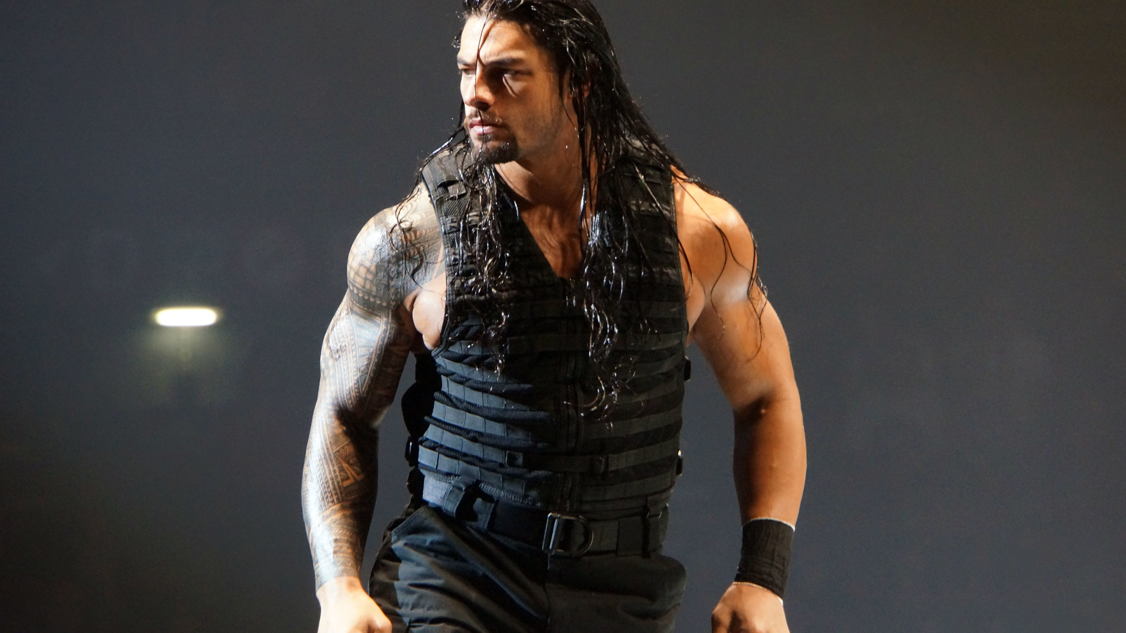 Roman Reigns WWE 4K wallpaper