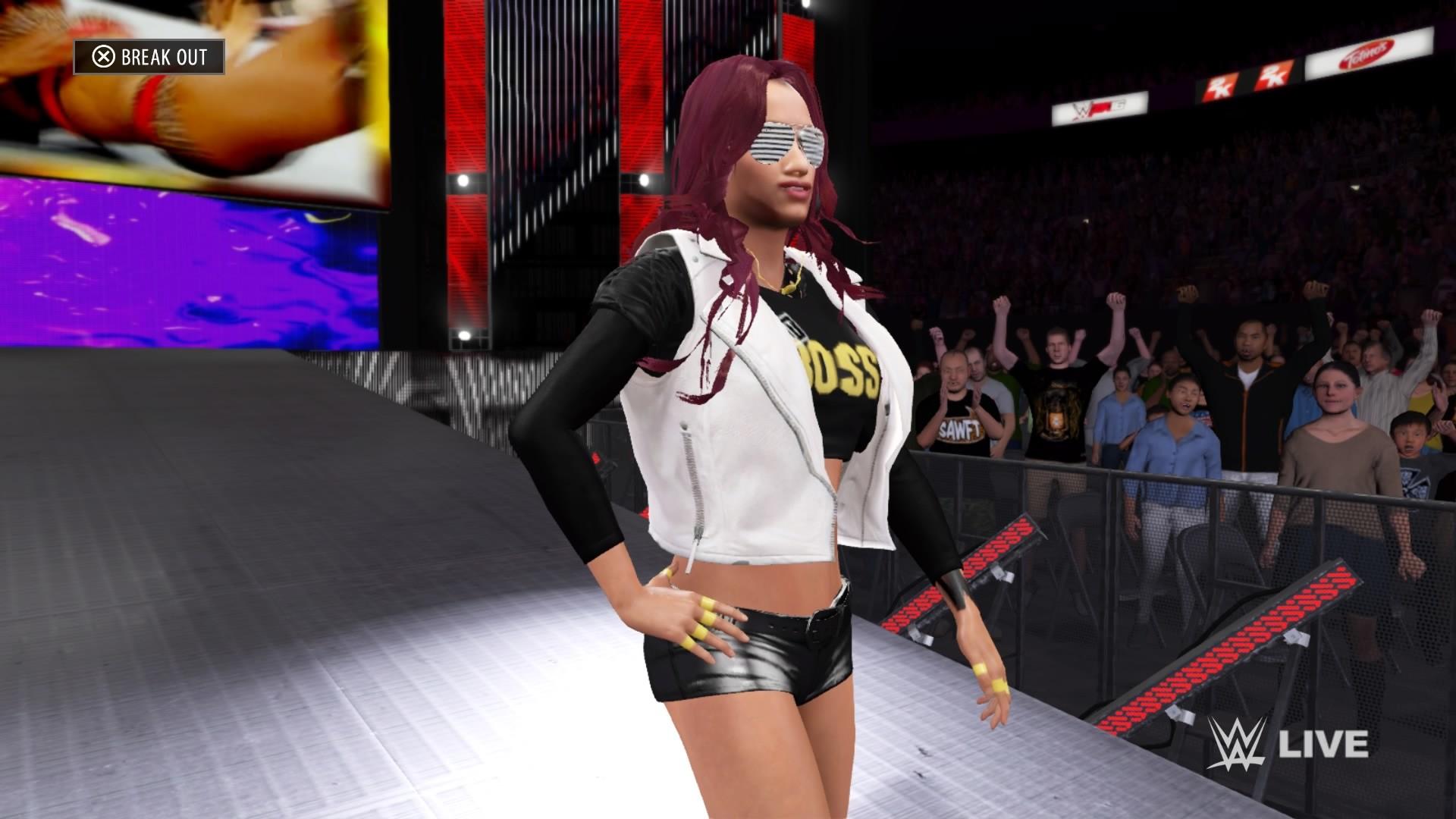 WWE 2K16's best fan creations: Get Sasha, Becky, Charlotte, Punk and more |  GamesRadar+