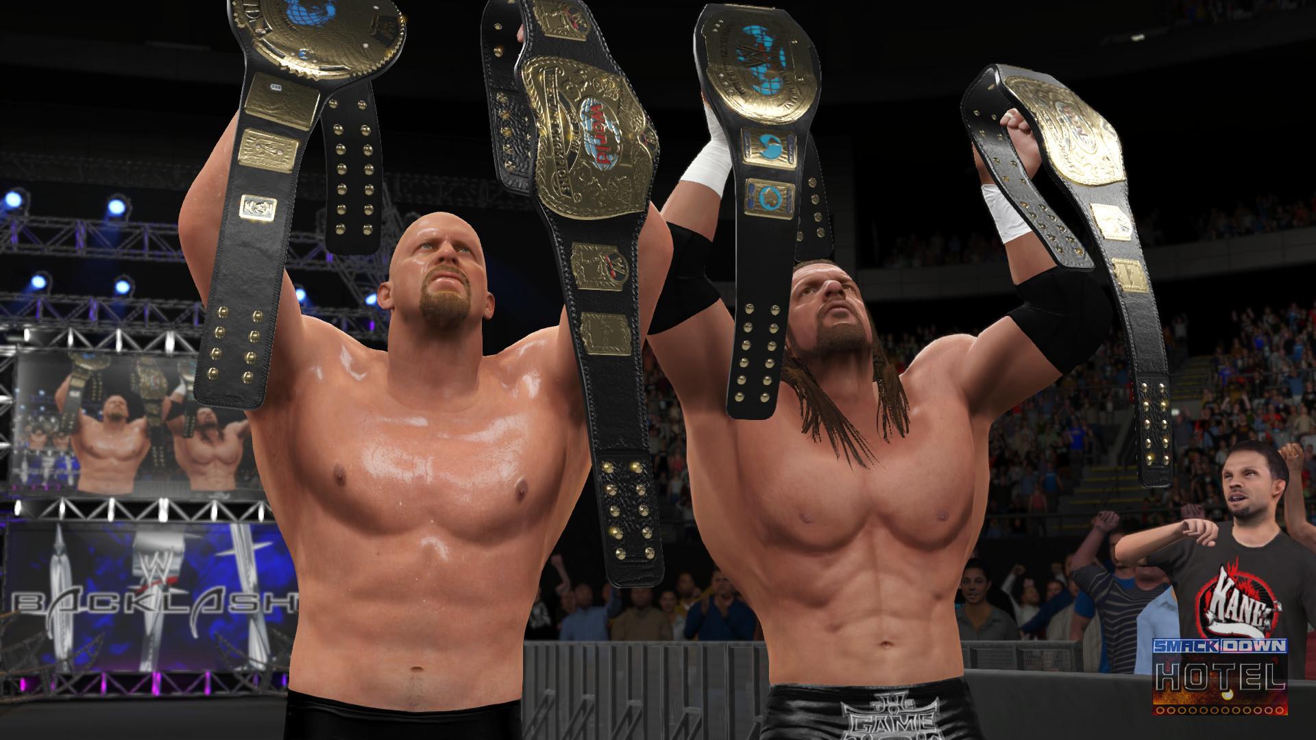 WWE2K16 StoneColdShowcase HHH