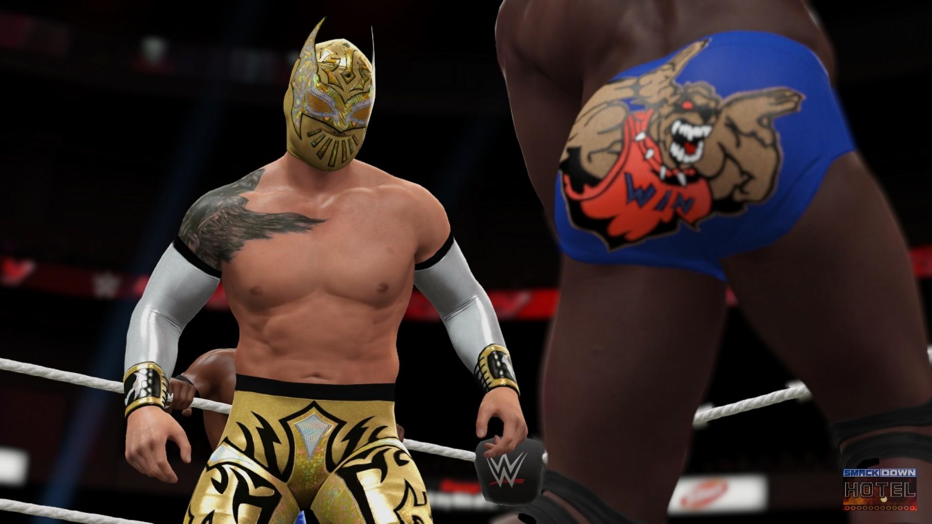 … LuchaDragonsMove WWE2K16 SinCara WWE2K16 CesaroKidd2