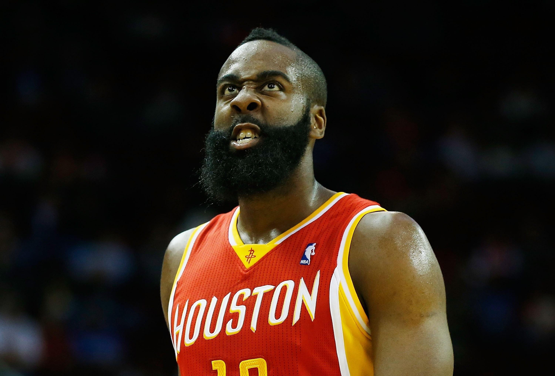 NBA Basketball Sports James Harden Houston Rockets 113982