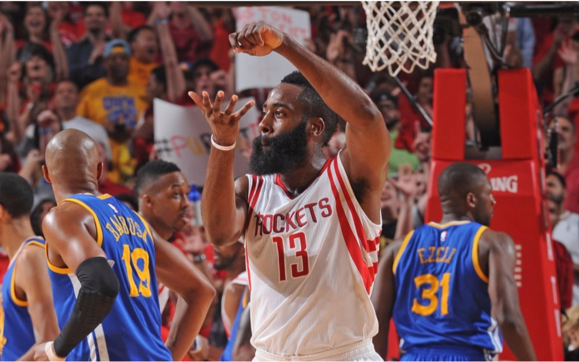 NBA Playoffs 2016 James Harden 4K Wallpaper