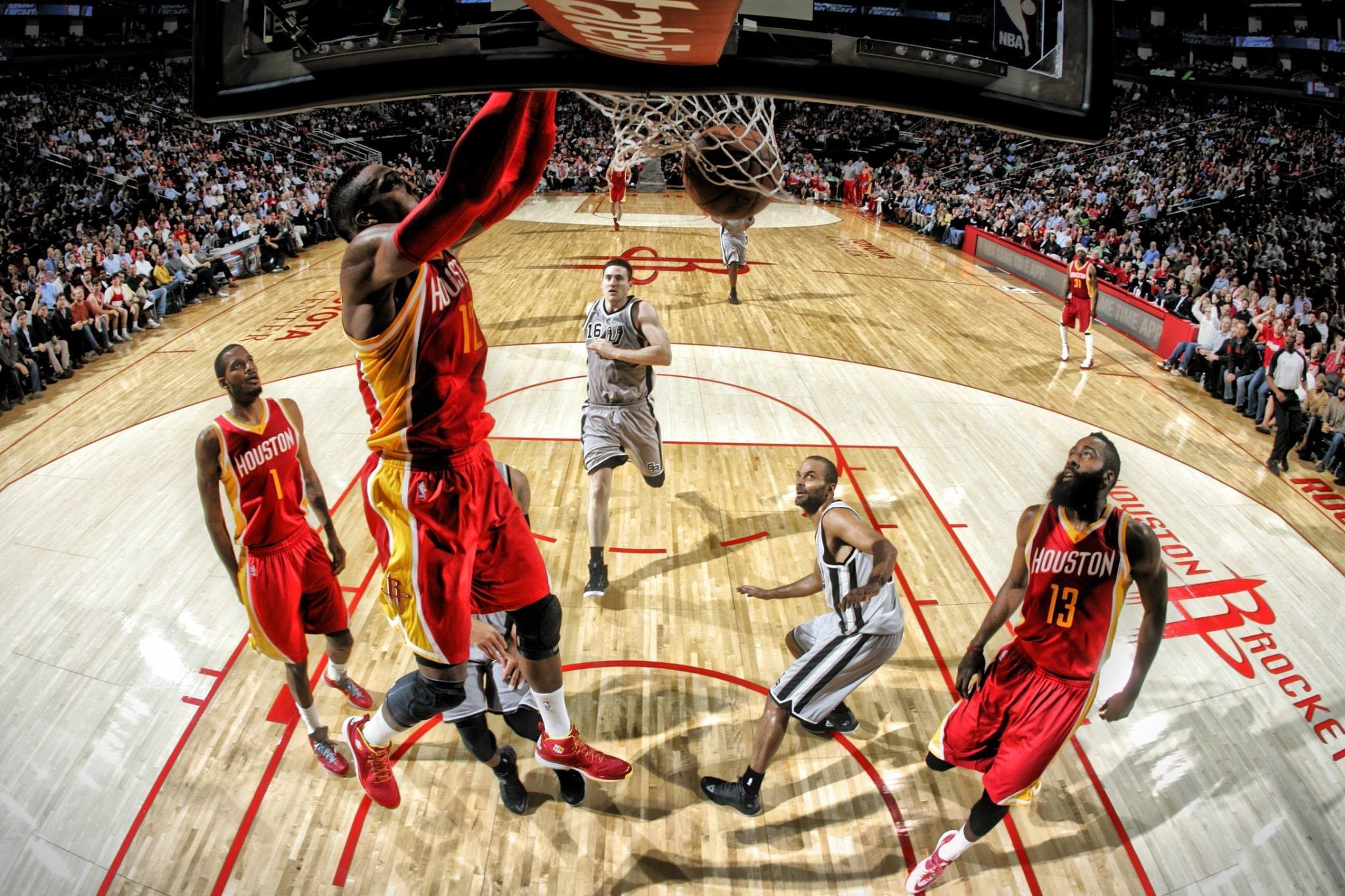 NBA, San Antonio Spurs, Houston Rockets, Tony Parker, Basketball Wallpapers  HD / Desktop and Mobile Backgrounds