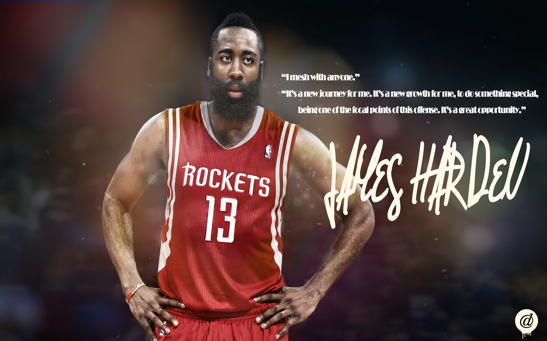 Oklahoma City Thunder v Houston Rockets James Harden Wallpapers …