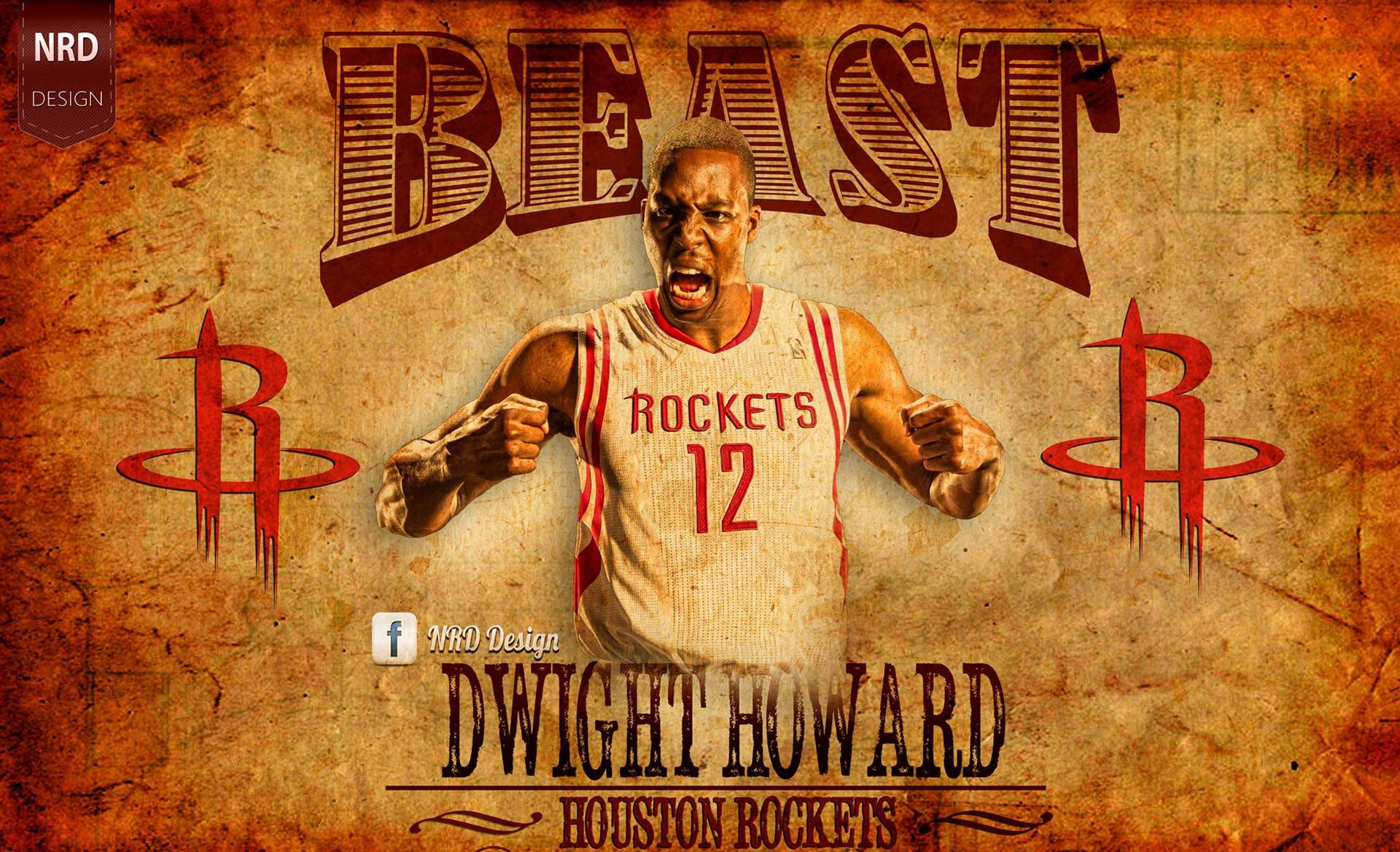 Dwight Howard Rockets Beast 1920×1200.