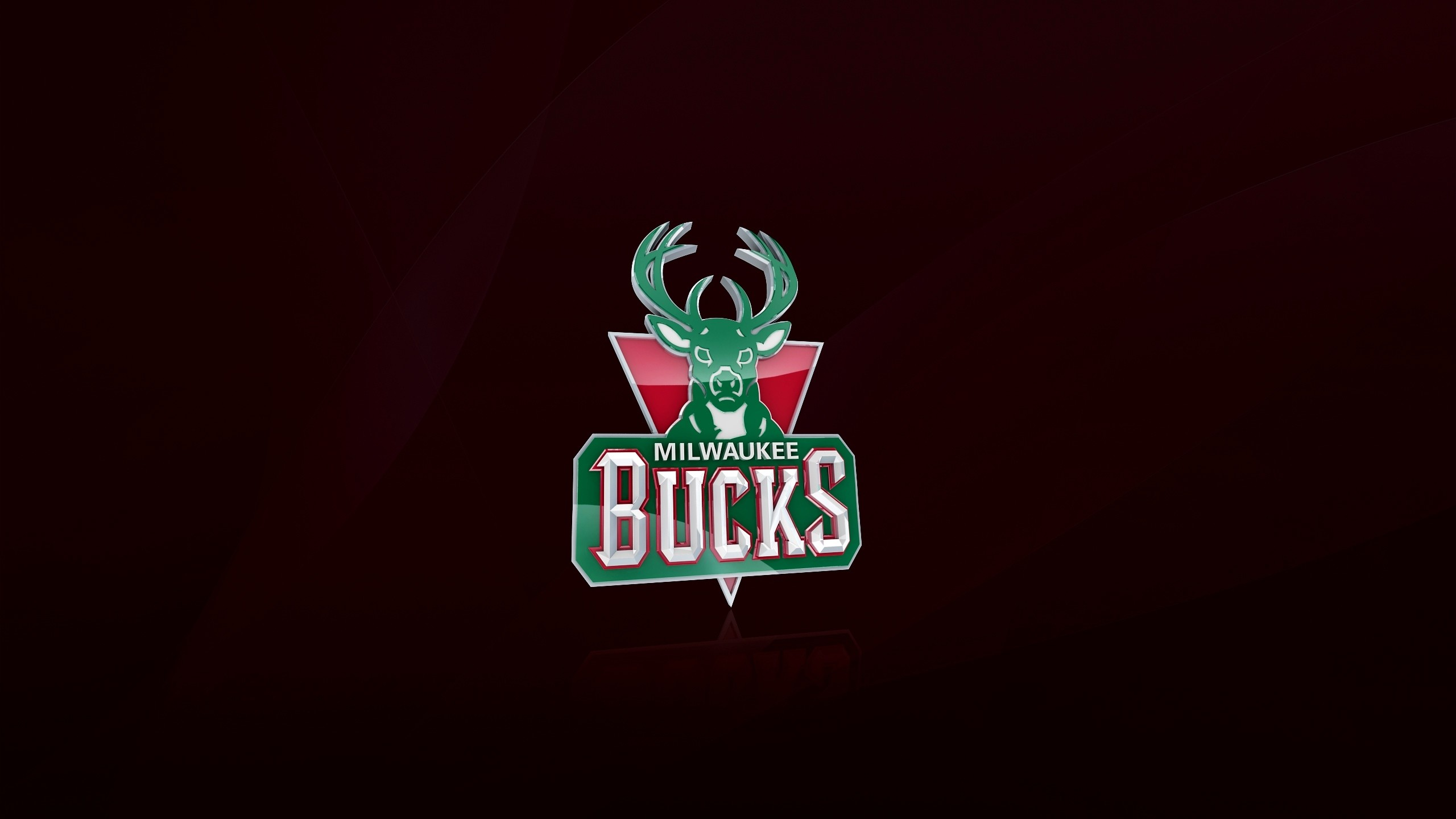 Preview wallpaper milwaukee bucks, nba, basketball, logo 2560×1440