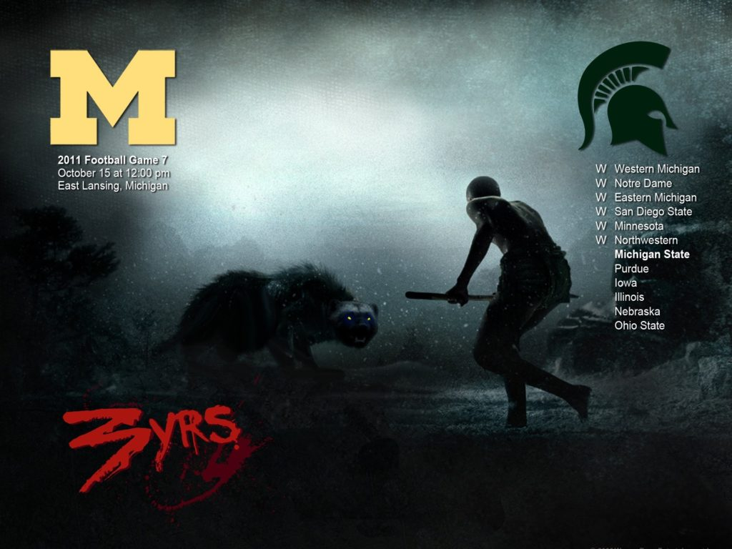 … michigan football desktop wallpaper wallpapersafari; michigan state  spartans college football wallpaper …