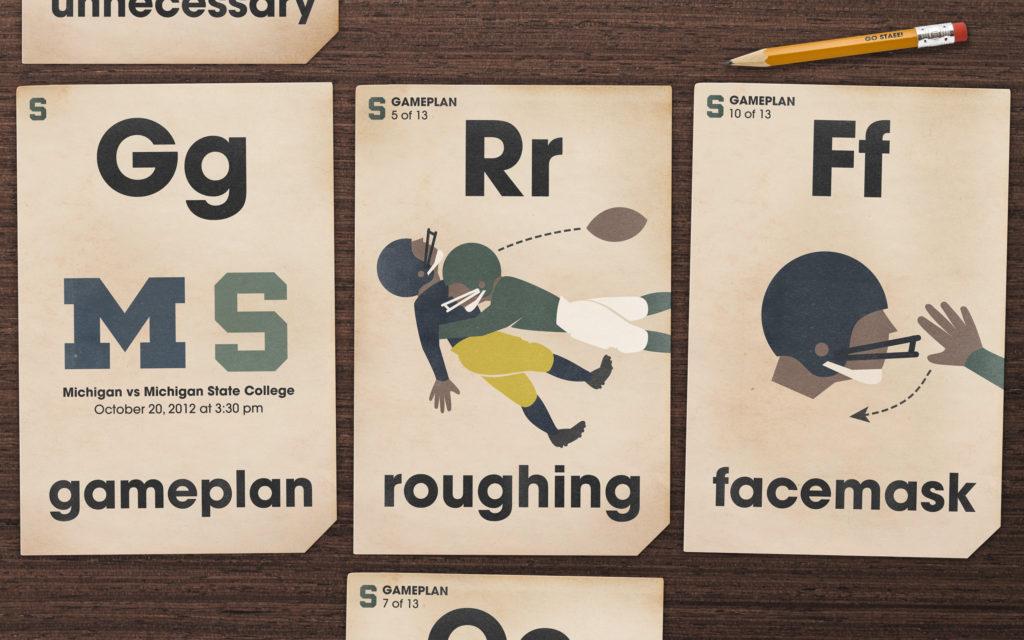 Michigan state university football wallpaper