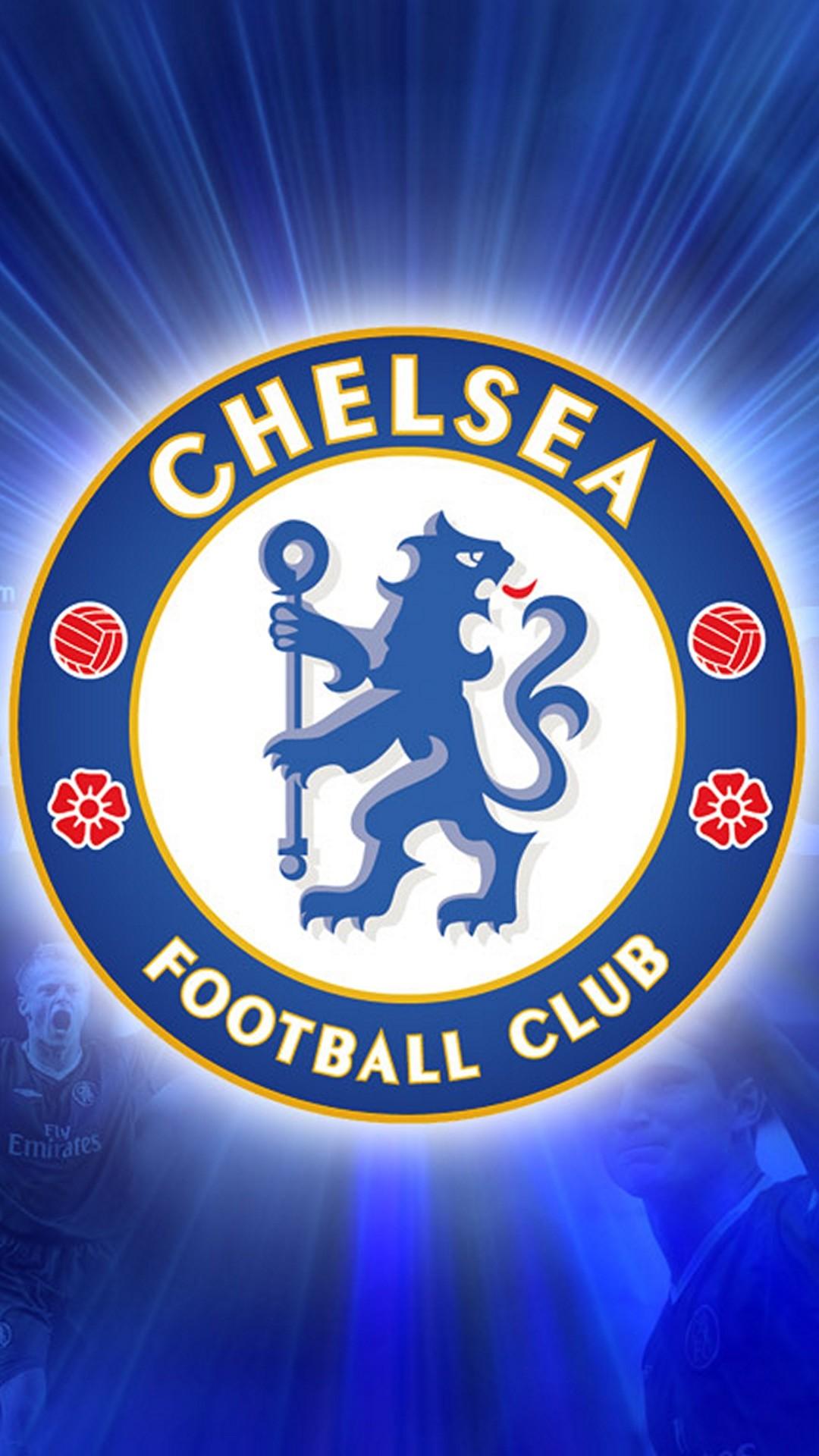 Wallpaper iphone football – Chelsea Fc Logo Football Iphone 6 Plus Hd  Wallpaper