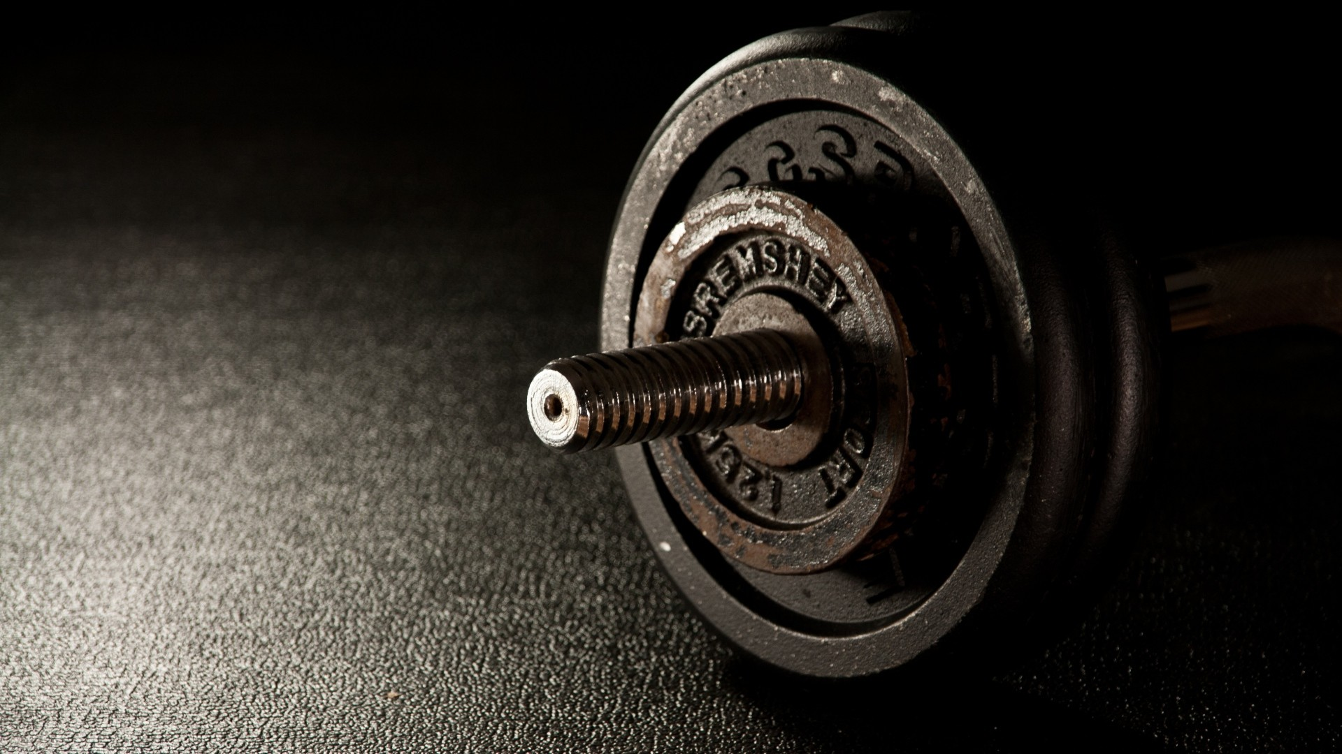 Preview wallpaper dumbbells, fitness, gym 1920×1080