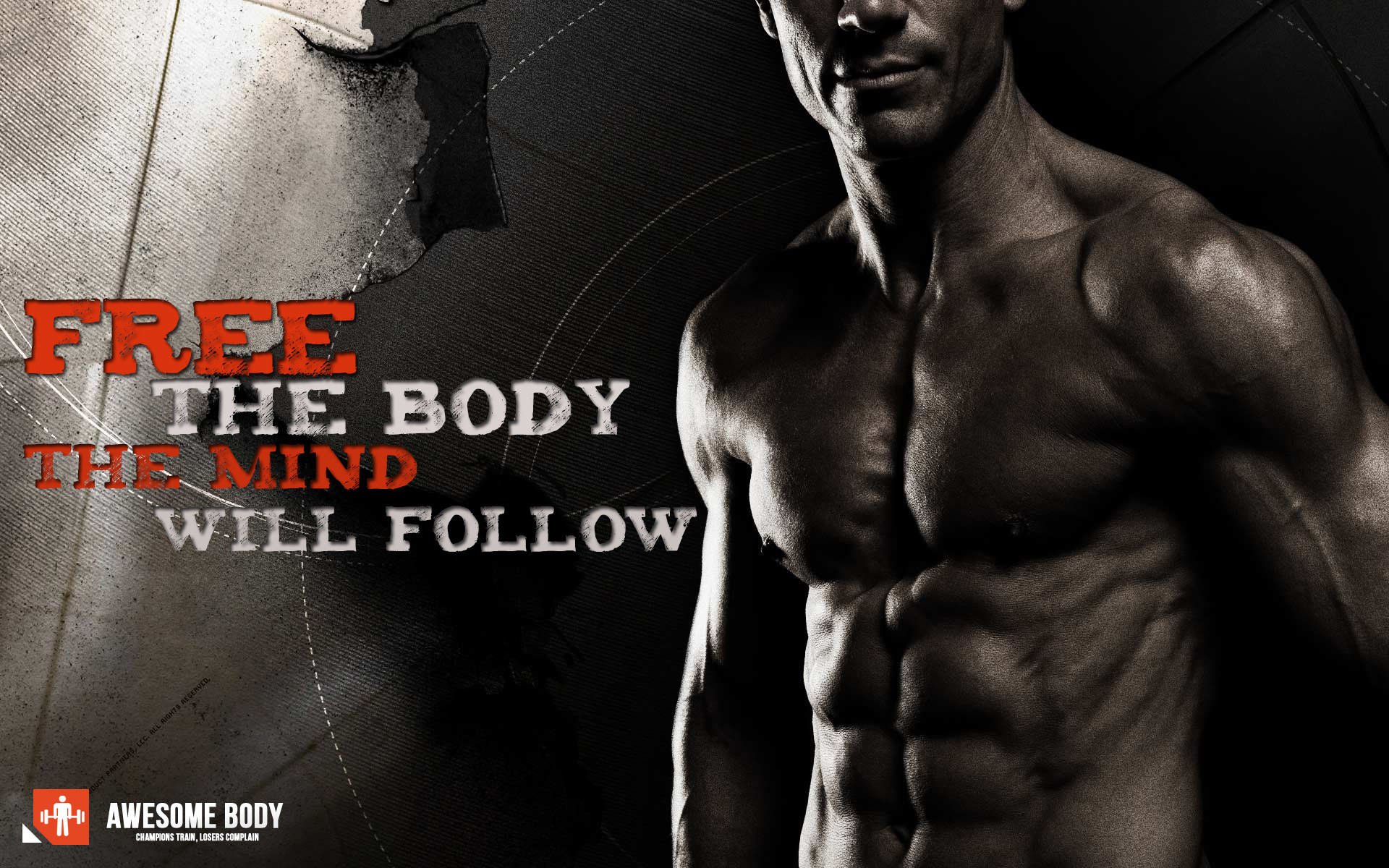 Free Bodybuilding Wallpaper download | Free the body | Awesome pict