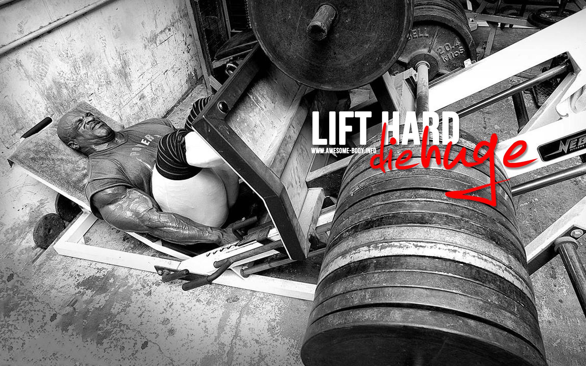 Lift hard die huge