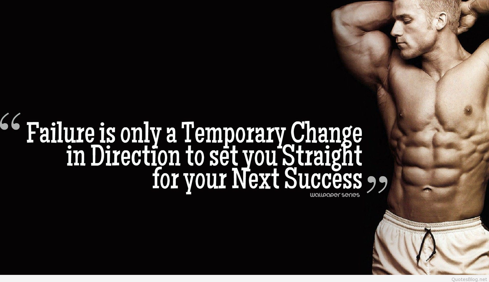 Success – Gym Quotes HD Wallpaper