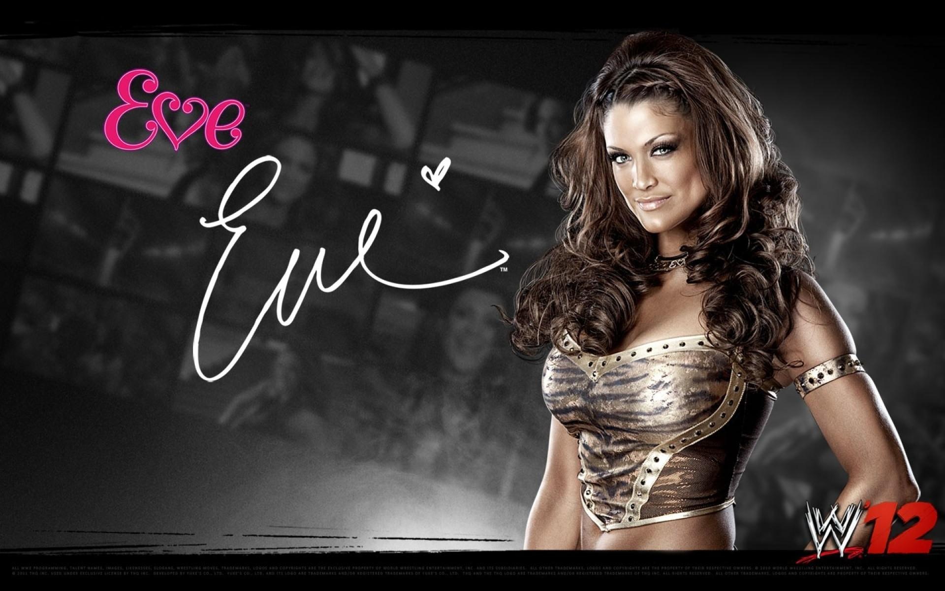 WWE Divas – WWE Eve HD Desktop Wallpaper