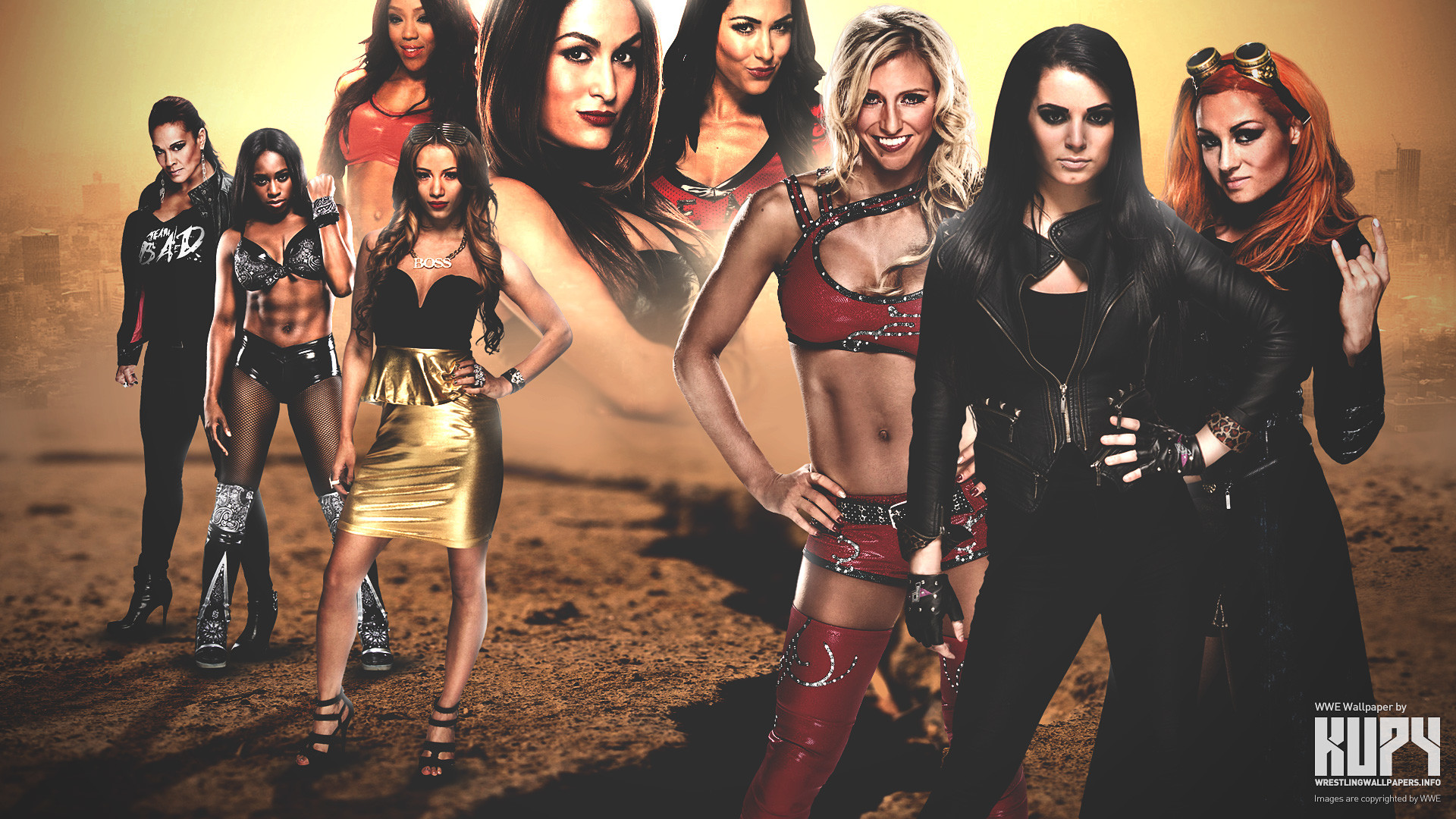 WWE NXT Divas Revolution wallpaper. 4K wallpaper   1920×1200   1920×1080 …