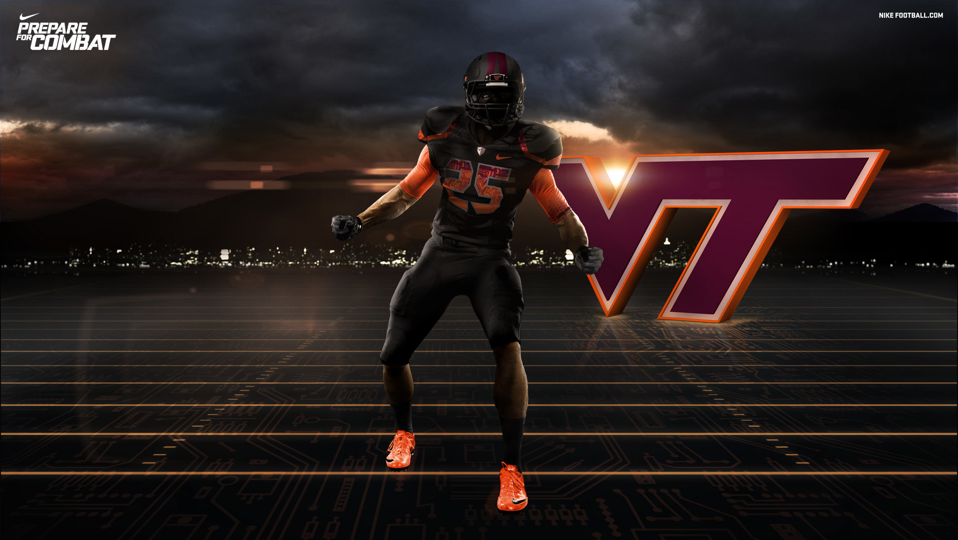 Football Virginia Tech Twitter 446790 With Resolutions 1920×1083 .