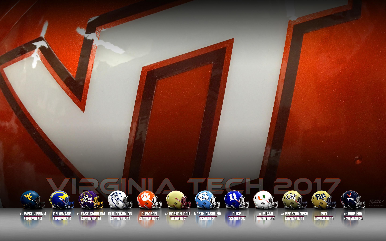 2017 Virginia Tech Football Desktop Wallpapers