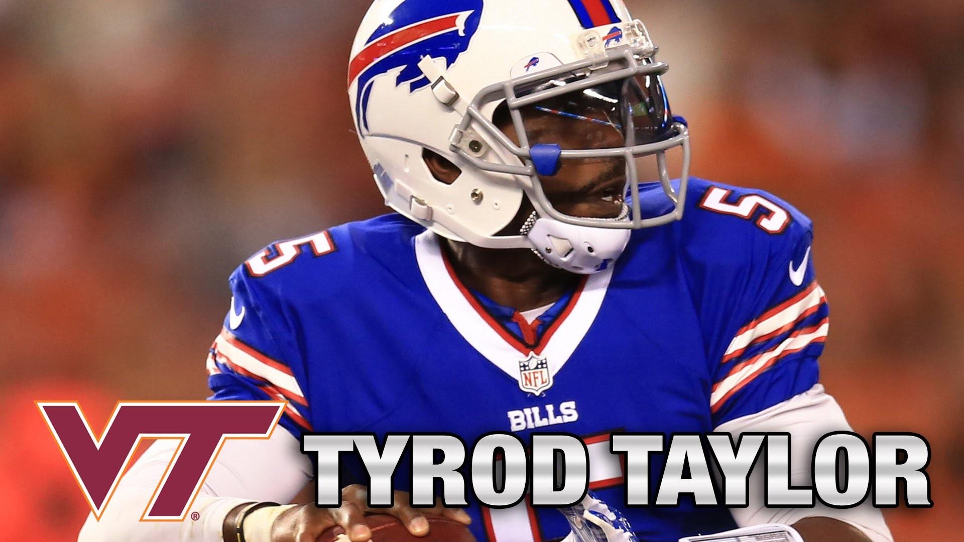 Bills Starting Quarterback Tyrod Taylor's Best Moments at Virginia Tech –  YouTube