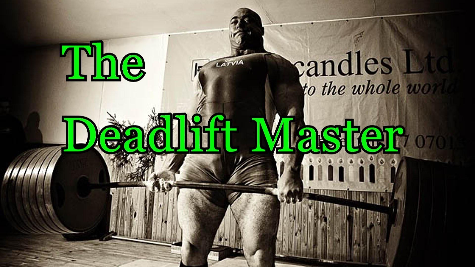 Konstantin Konstantinovs Powerlifting Motivation – The Deadlift Master (The  Motivator ) – YouTube
