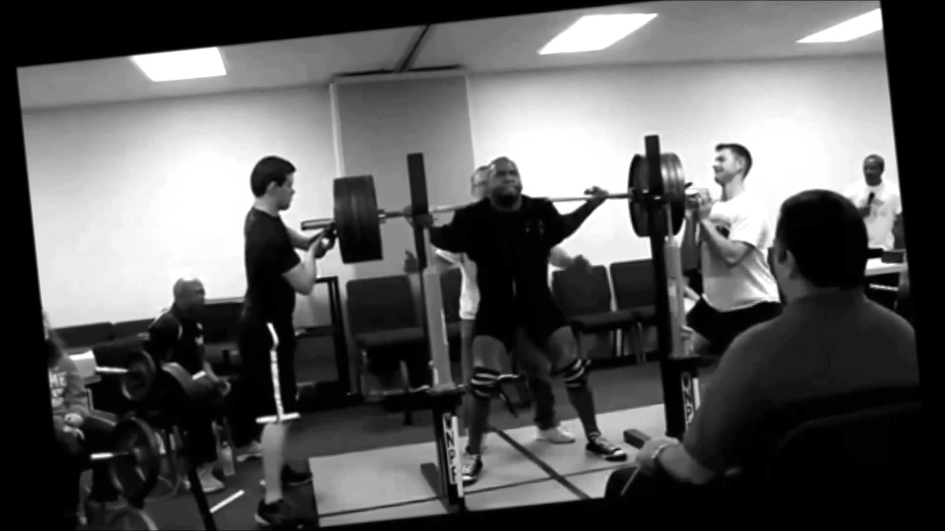 Powerlifting Motivation ( I feel Like A Monster )