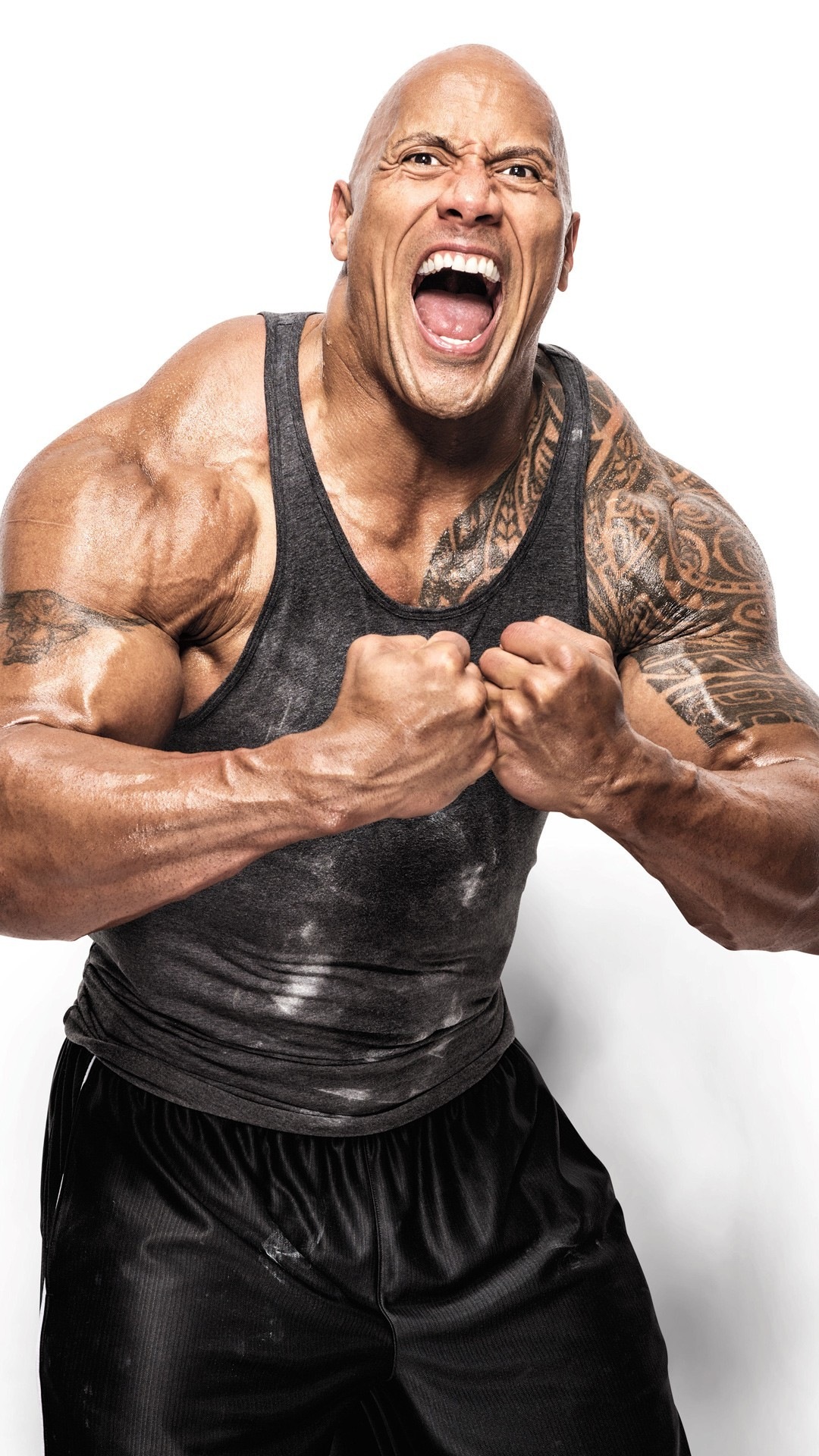 Rock Johnson Dwayne Johnson Workout Fitness Workout