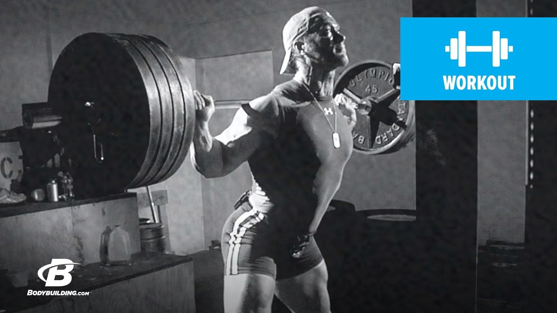 Mike O'Hearn's Legs Workout   Power Bodybuilding Training Program – YouTube