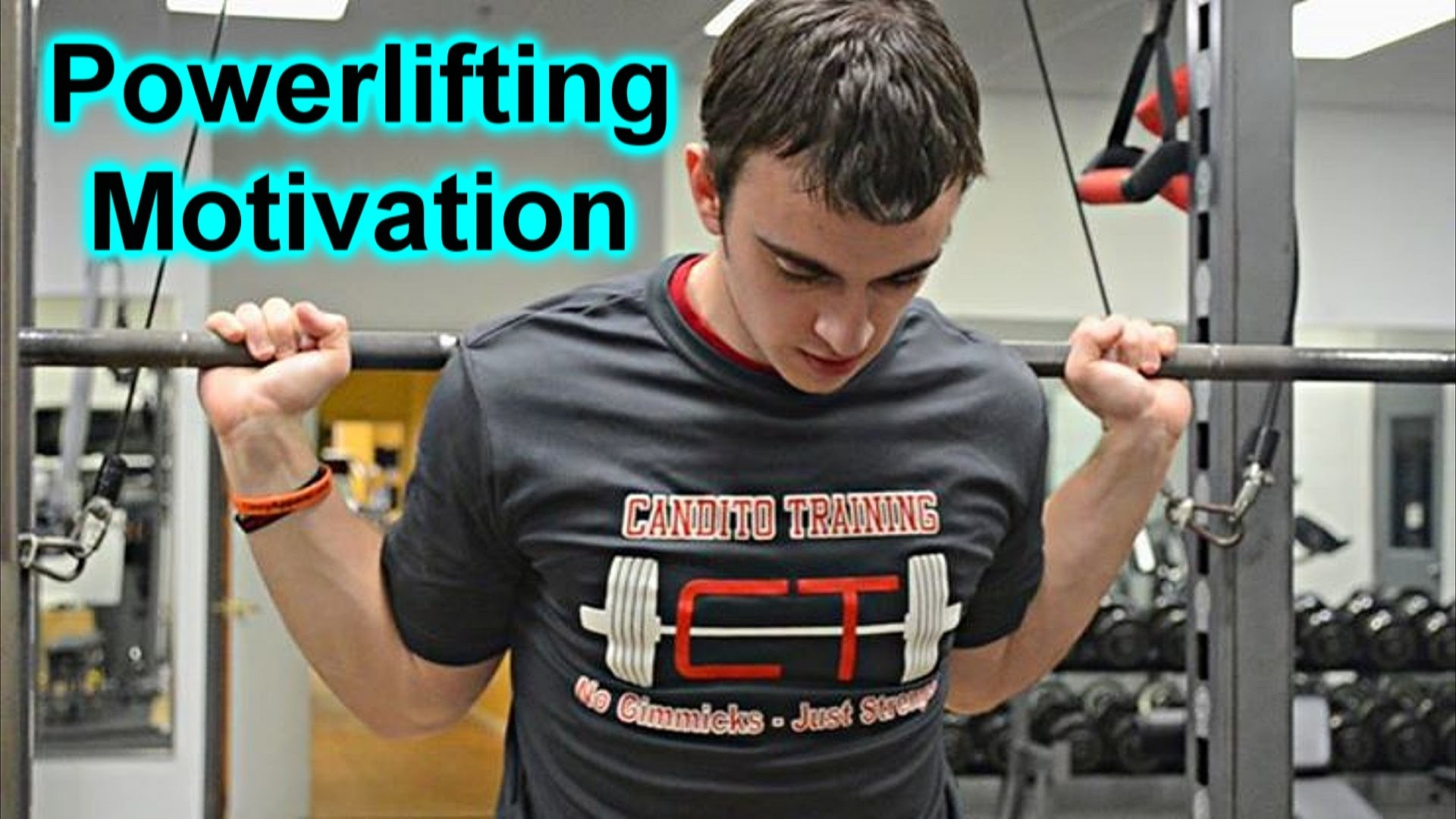 """Jonnie Candito Powerlifting Motivation HD – """"What's So wrong Being Strong""""  ( The Motivator ) – YouTube"""