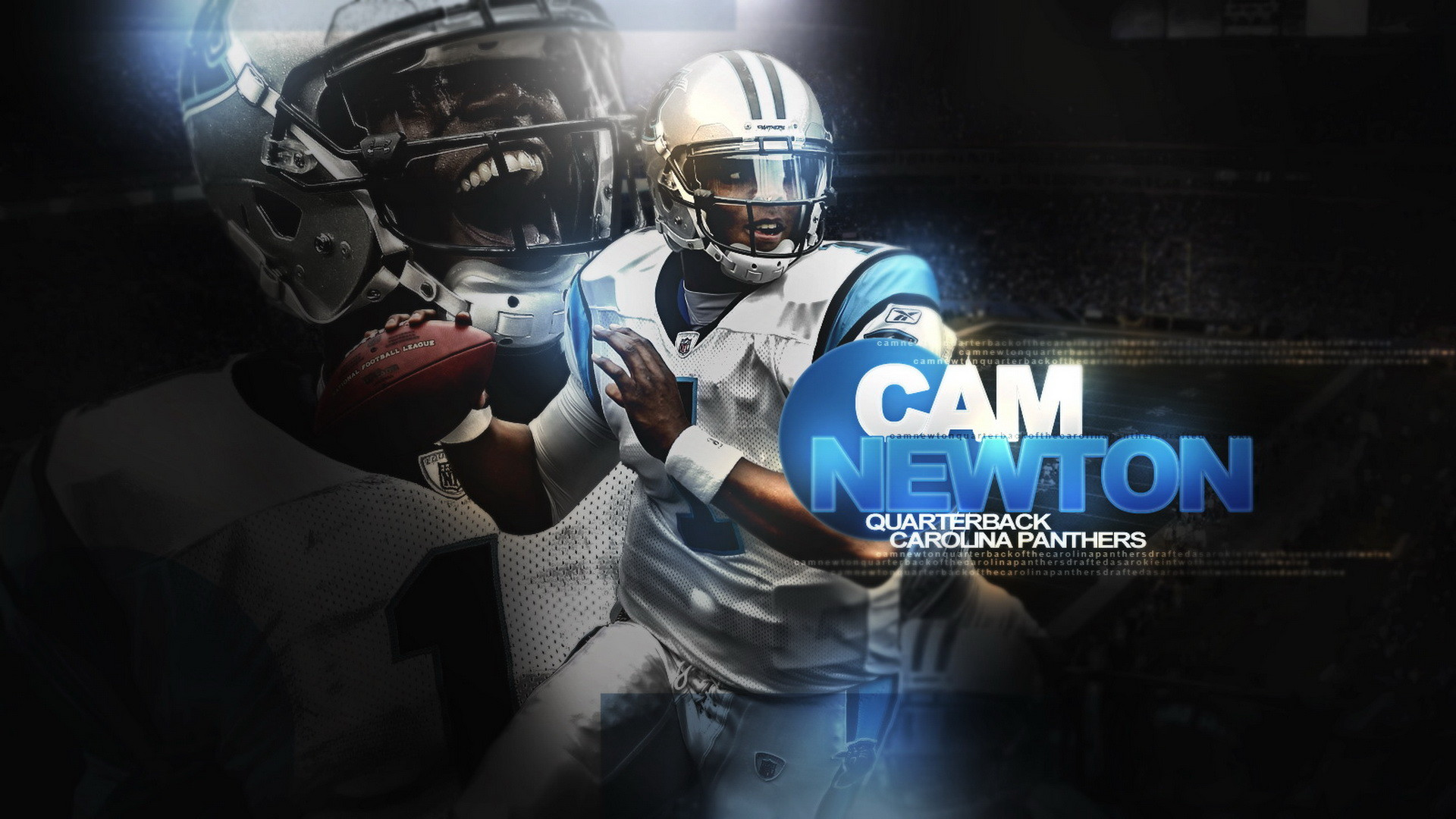 … Cam Newton 2014 NFL Wallpaper 01 · Wallpaperres.com