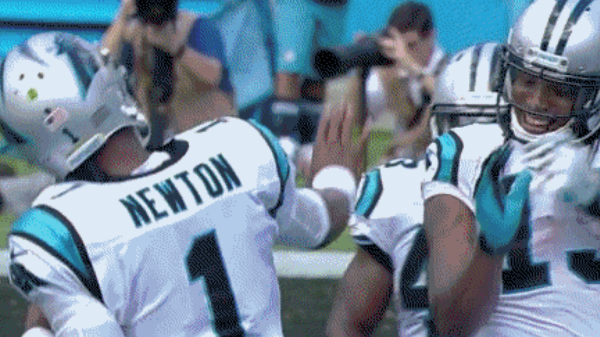 Cam Newton, Panthers have new touchdown dance that happens to be illegal    NFL   Sporting News