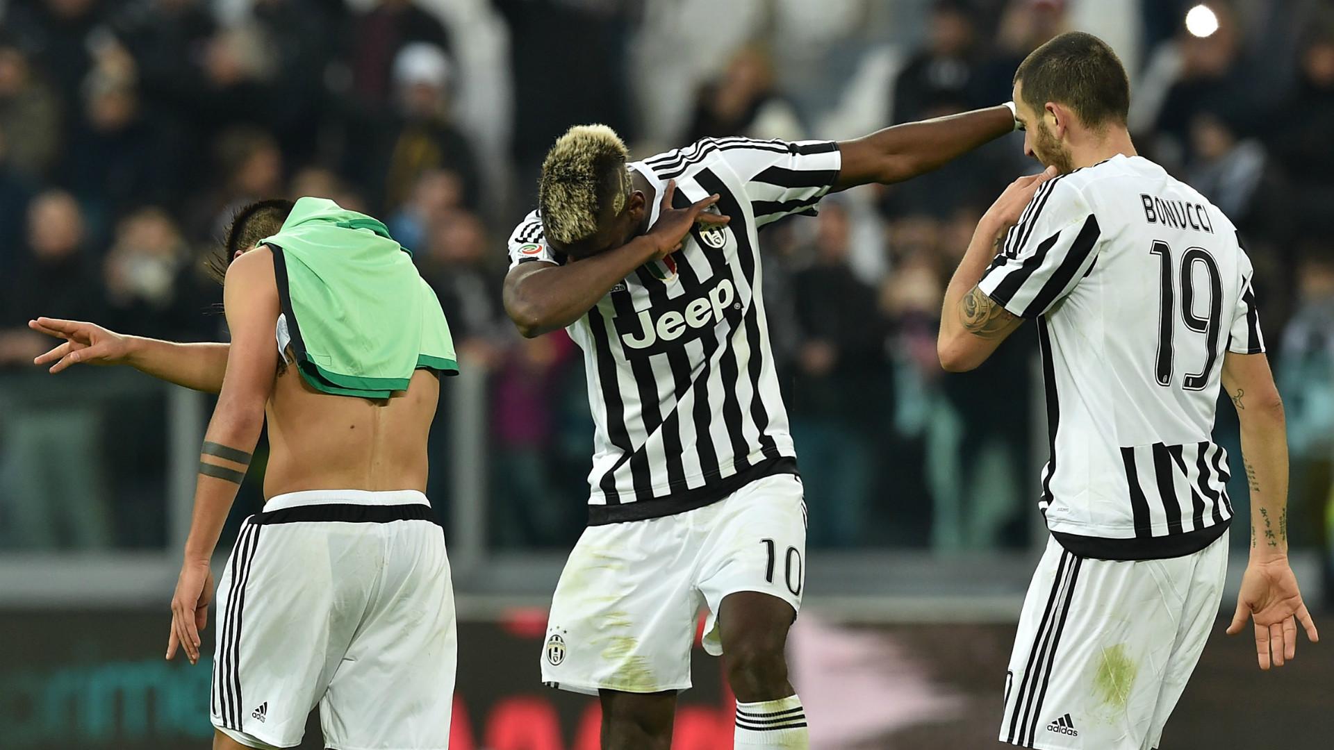 Juventus went on to win the game 3-0, with Leonardo Bonucci and Simone