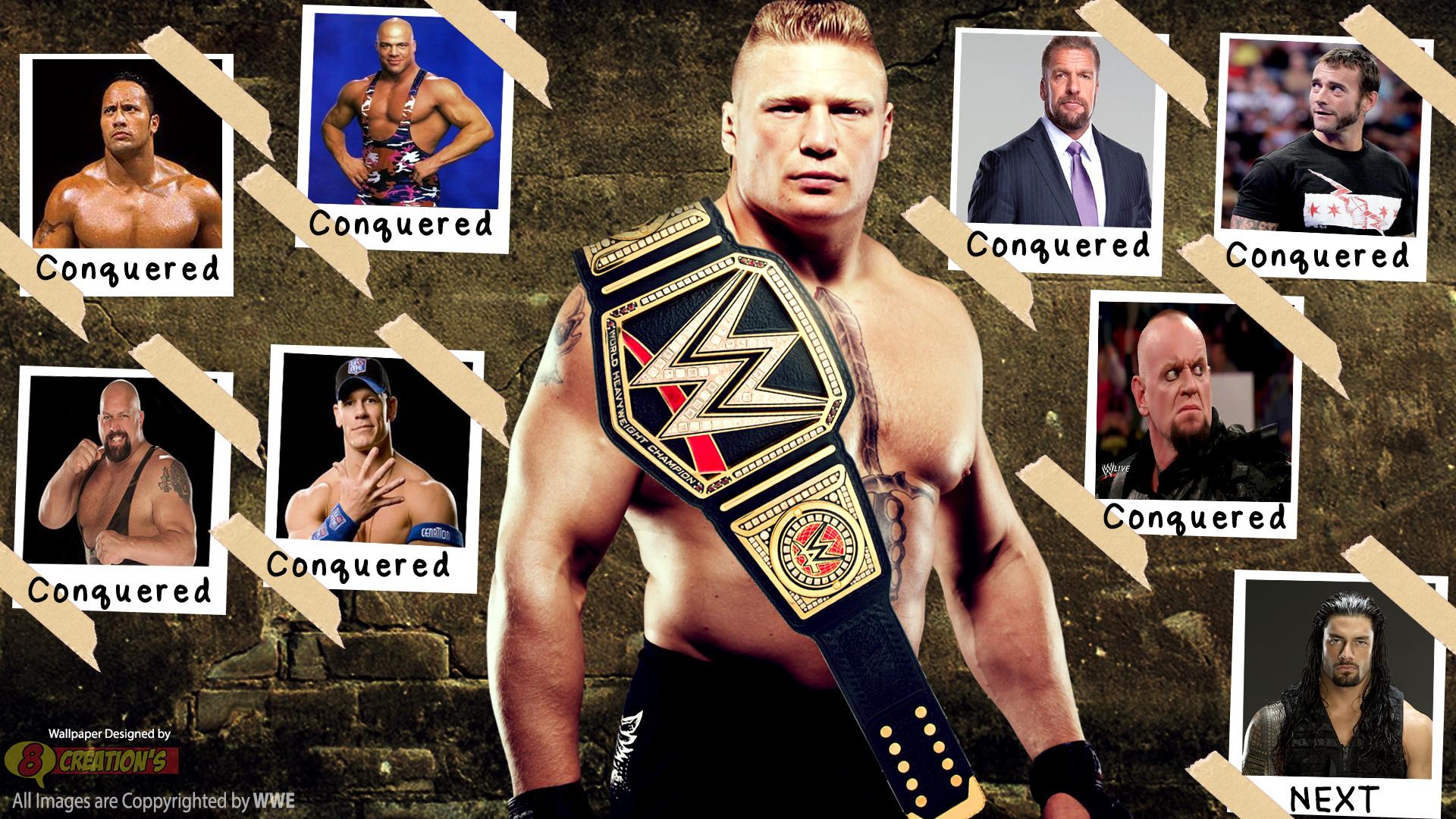 Brock Lesnar 2015 Wallpaper for Ipad