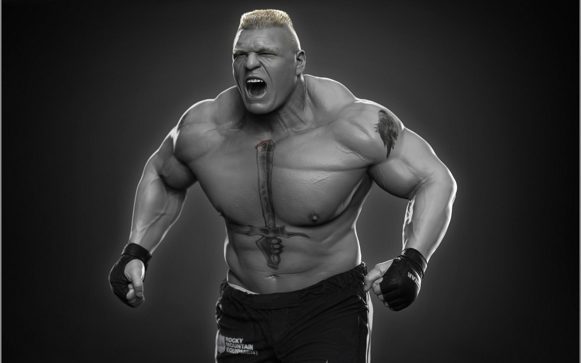 Brock Lesnar 3D