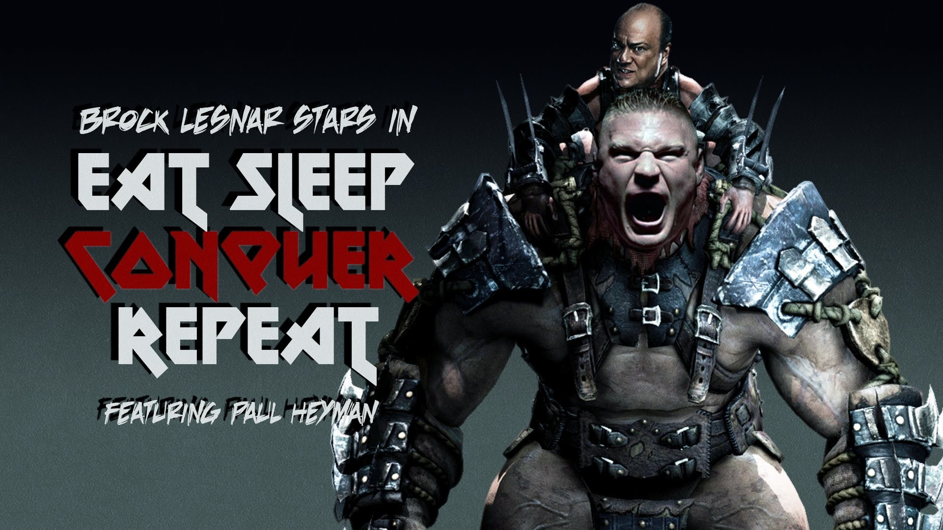 """WWE: """"Eat Sleep Conquer Repeat"""" ▻ Brock Lesnar Video Game Theme Song –  YouTube"""