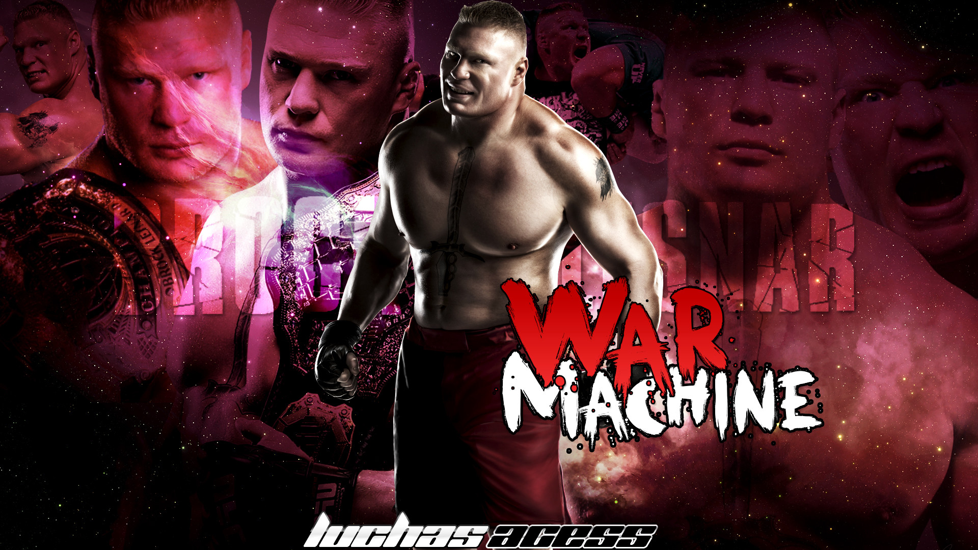Brock Lesnar Background HD.