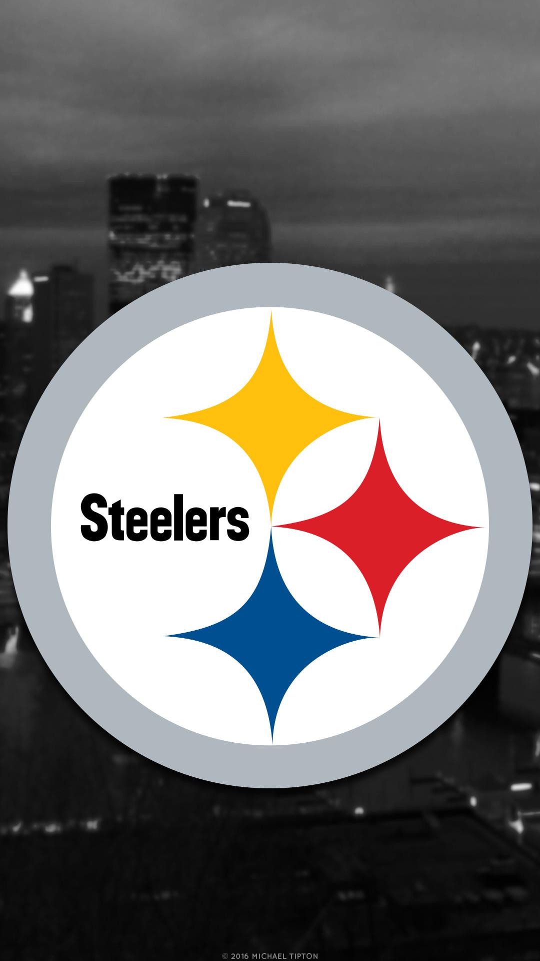 … galaxy Pittsburgh Steelers city 2017 logo wallpaper free iphone 5, 6,  7, galaxy s6