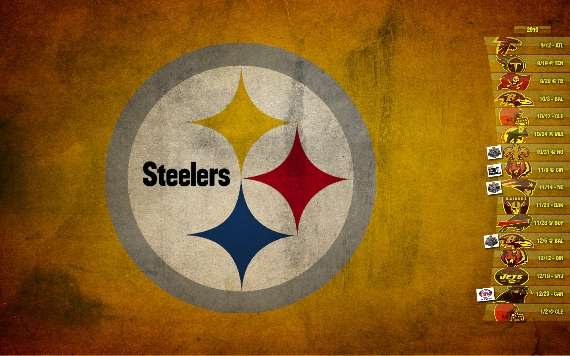 Pittsburgh Steelers Logo Wallpaper HD Download.