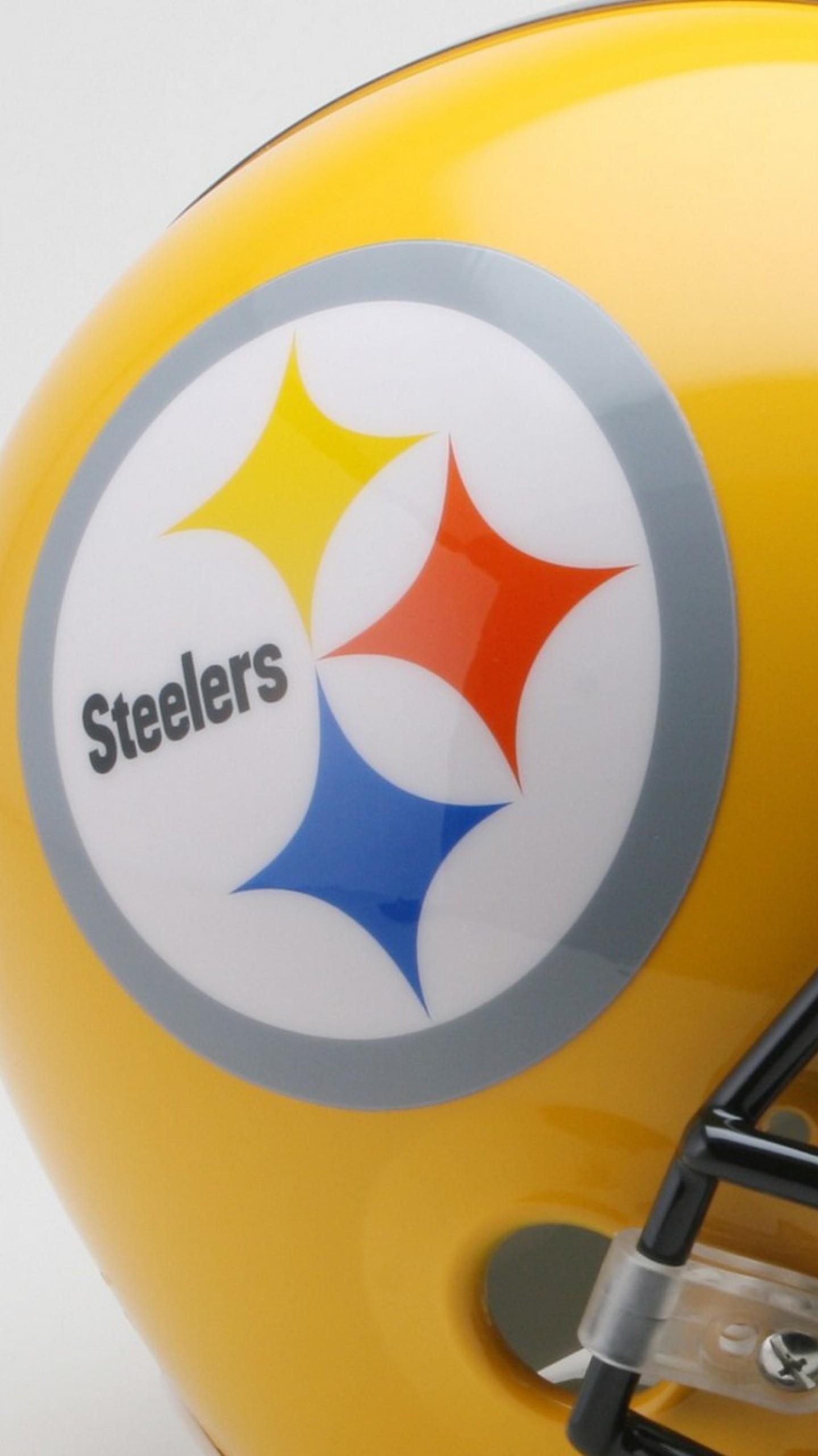 Preview wallpaper pittsburgh steelers, american football, helmet 1440×2560