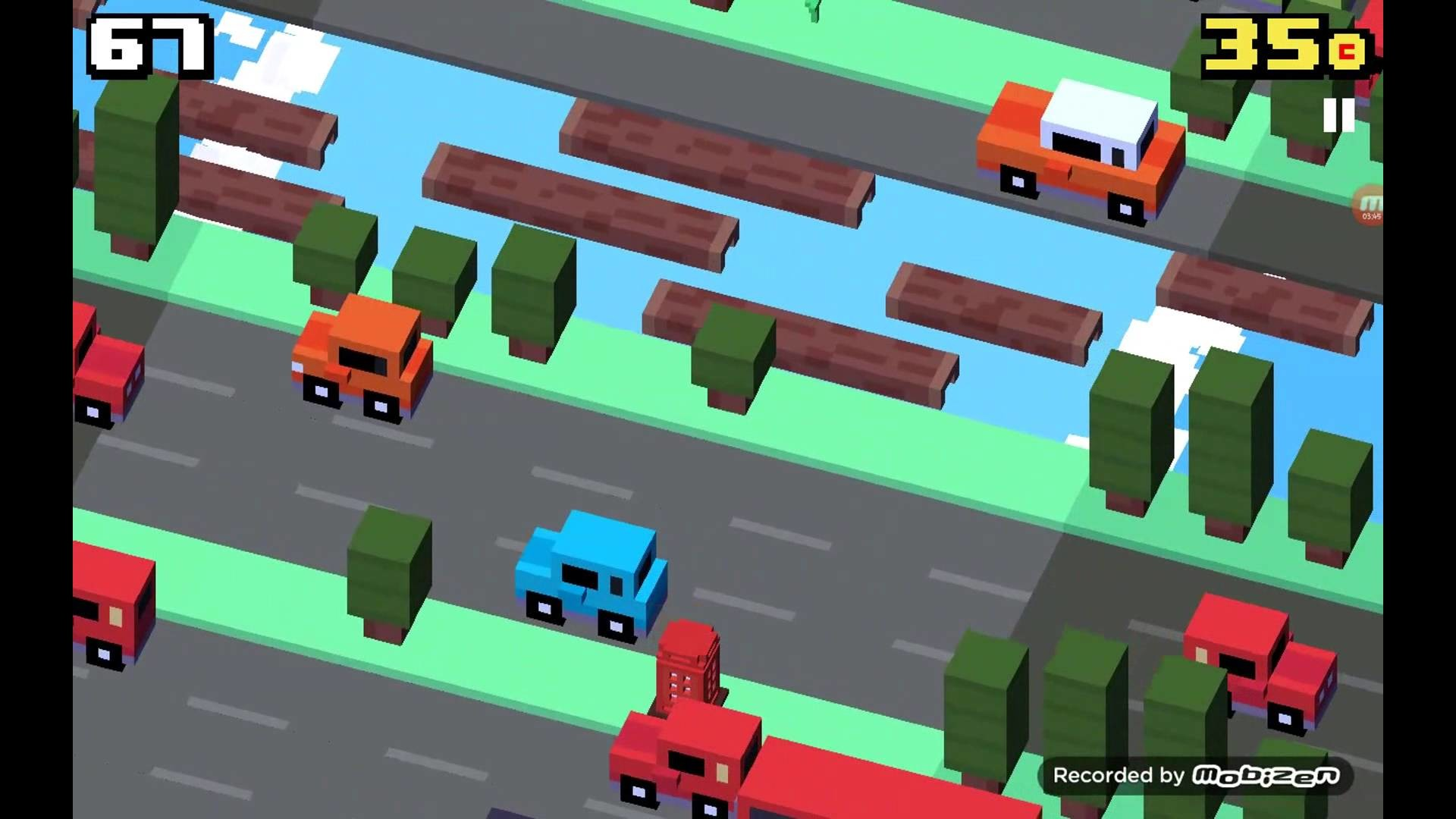 Crossy road part 10 Ball is life