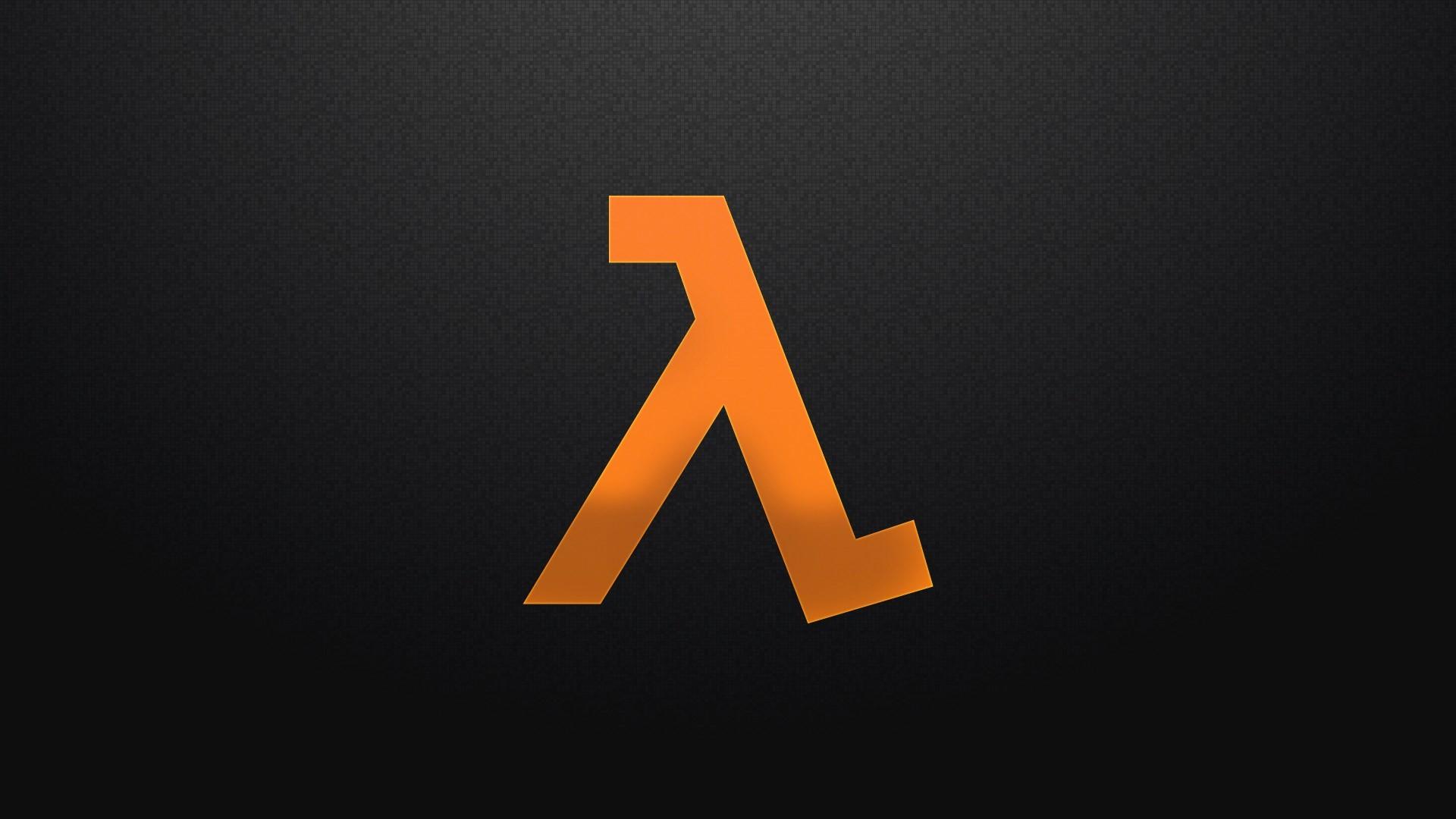half life logo …
