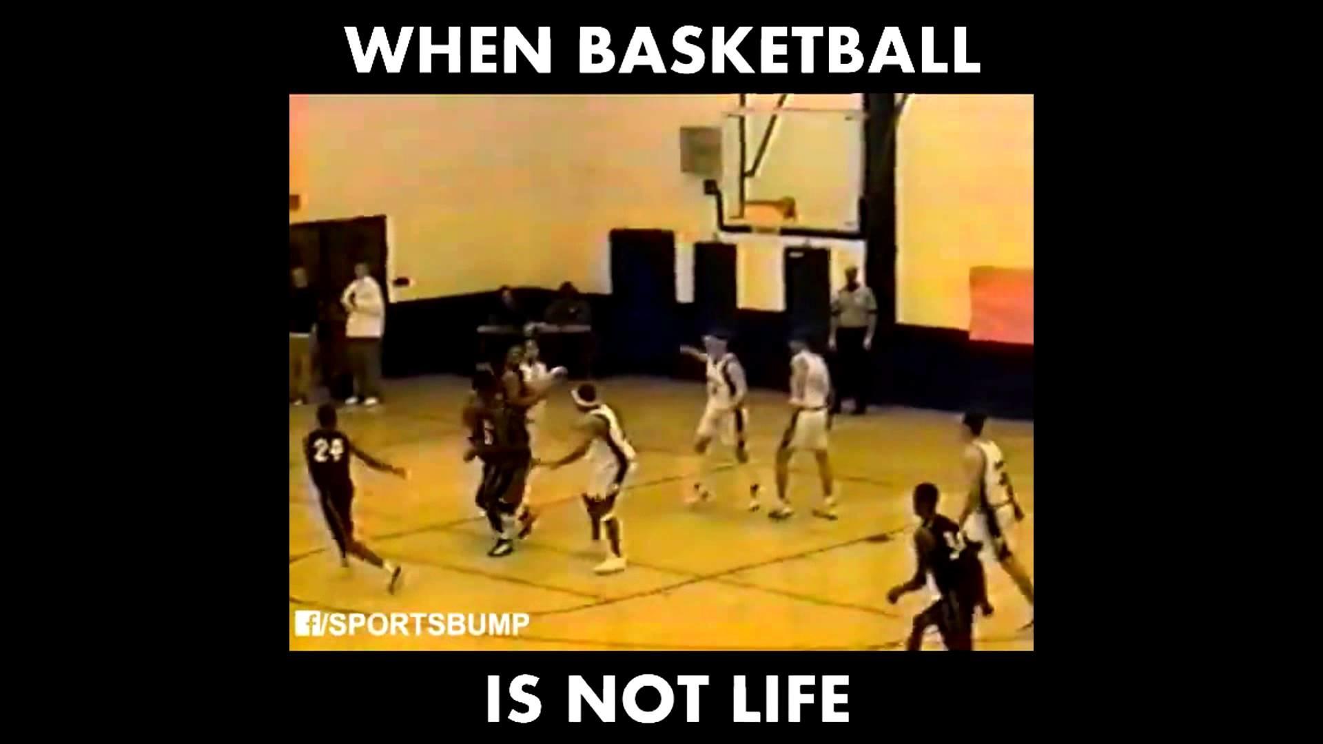 When Basketballl is Not Life   FUNNY When Ball Isn't Life Video!   # BallIsLife Fail