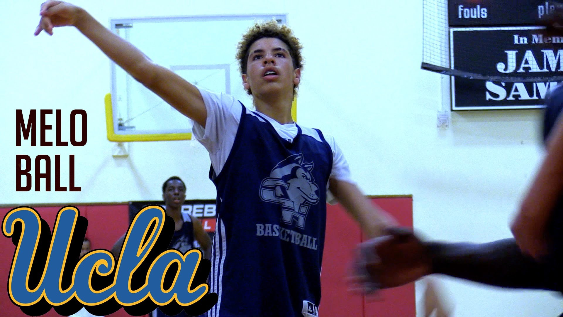 LaMelo Ball Full Summer 2016 Highlights   Youngest Ball Brother Getting  Better!