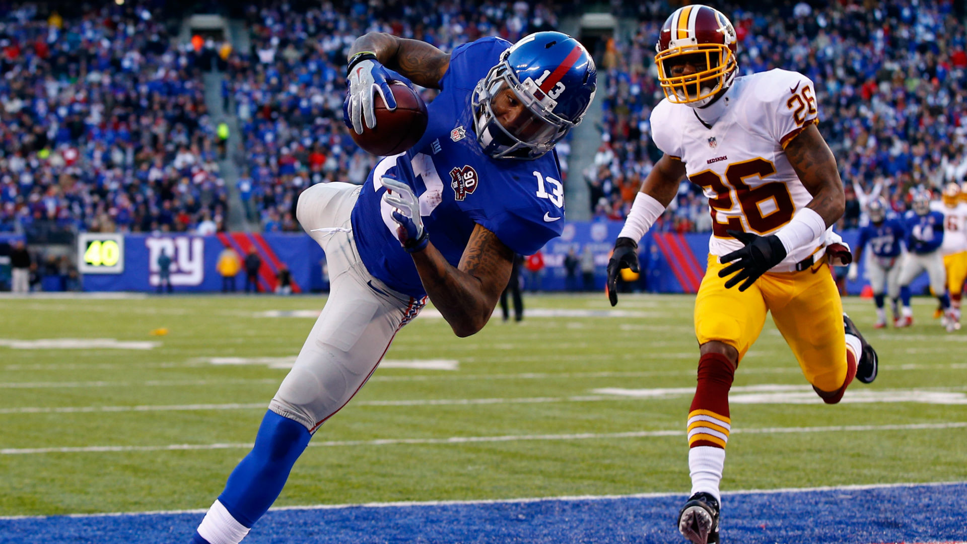 Odell Beckham catches AP Offensive Rookie of the Year Award | NFL |  Sporting News