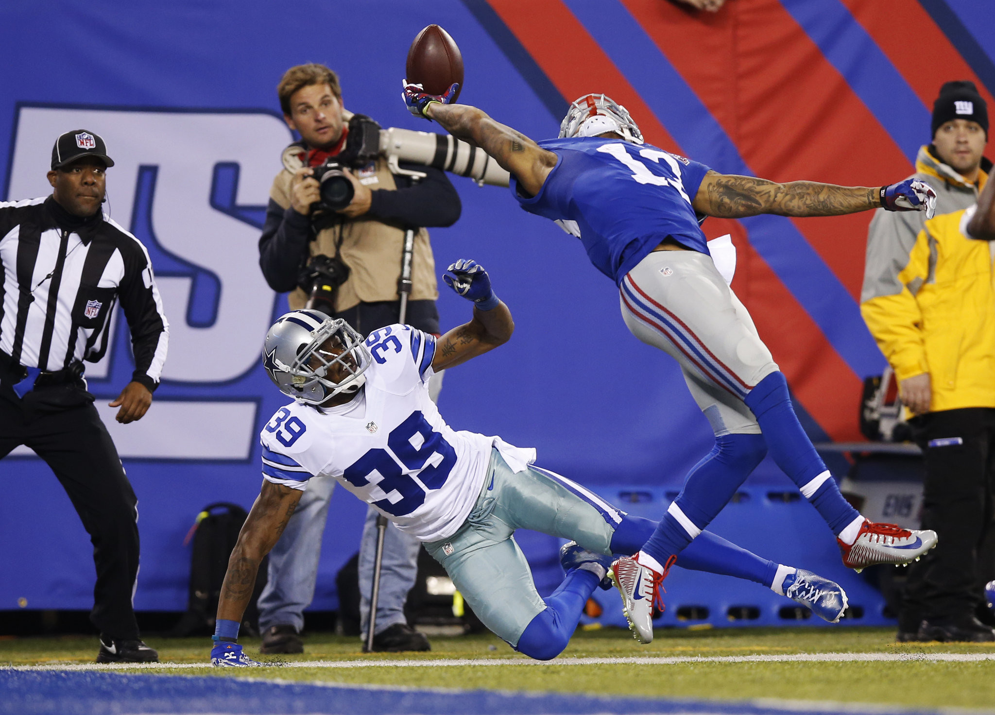 New York Giants WR, former LSU star Odell Beckham Jr. continues stockpiling  one-handed catches | NOLA.com