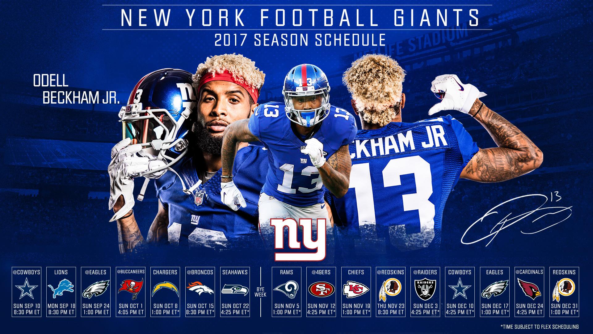 NY Giants Wallpaper 1920×1080