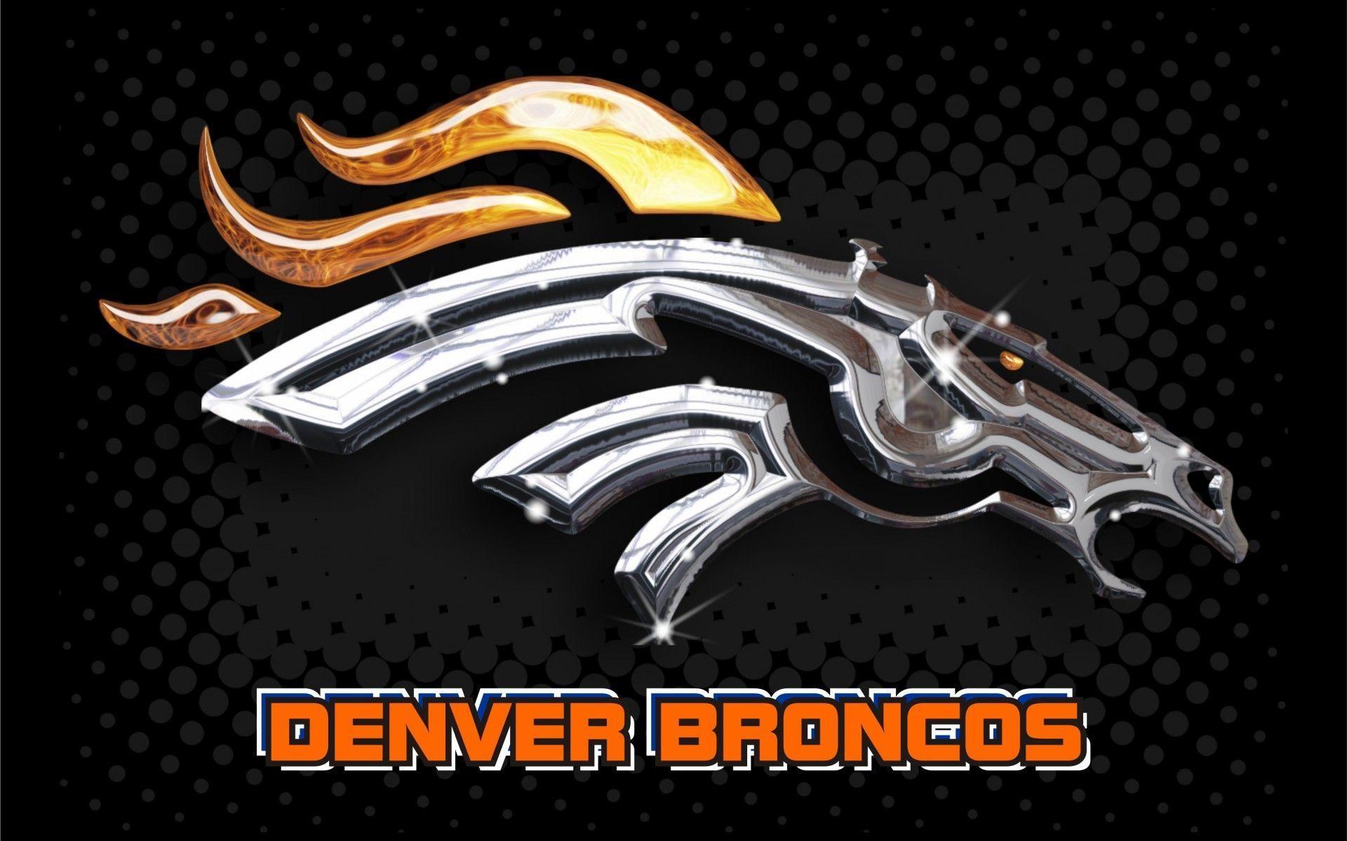 Denver Broncos 2014 NFL Logo Wallpaper Wide or HD | Sports Wallpapers