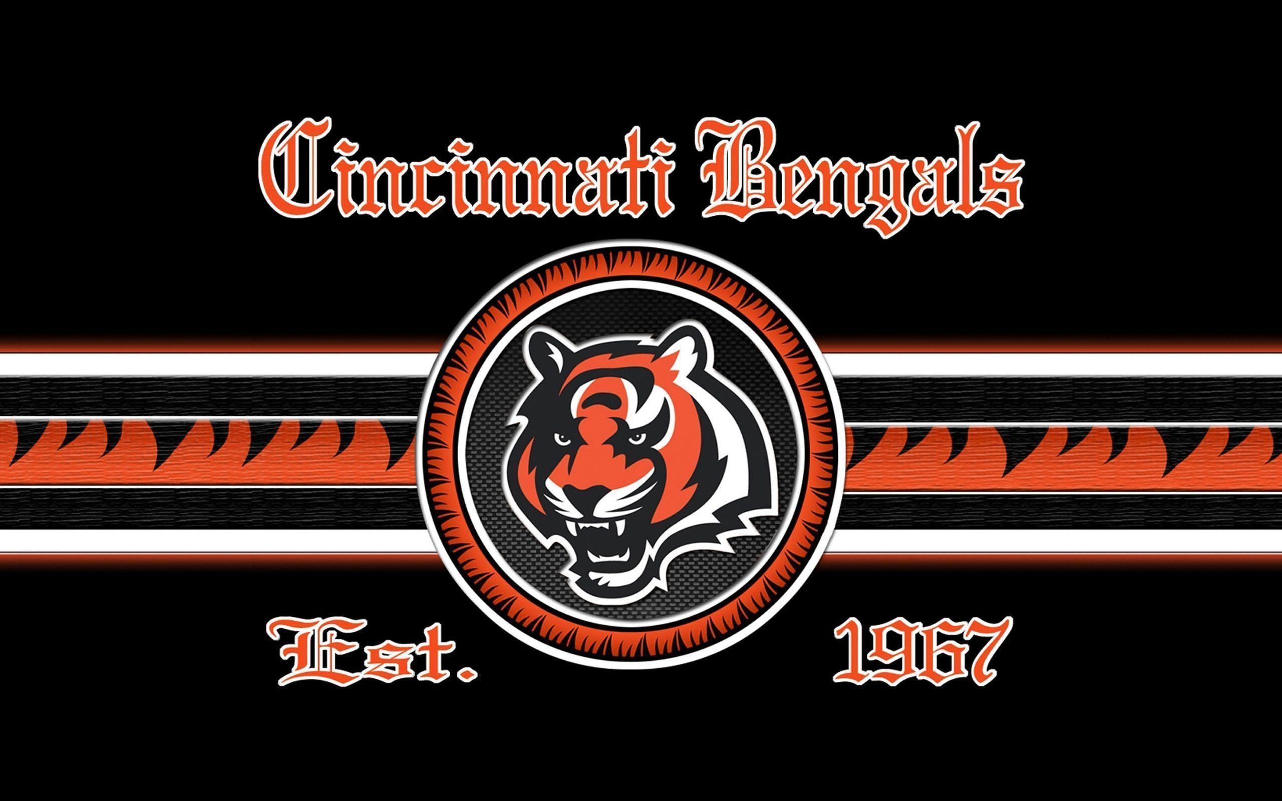 2014 Cincinnati Bengals NFL Logo Wallpaper Wide or HD | Sports .