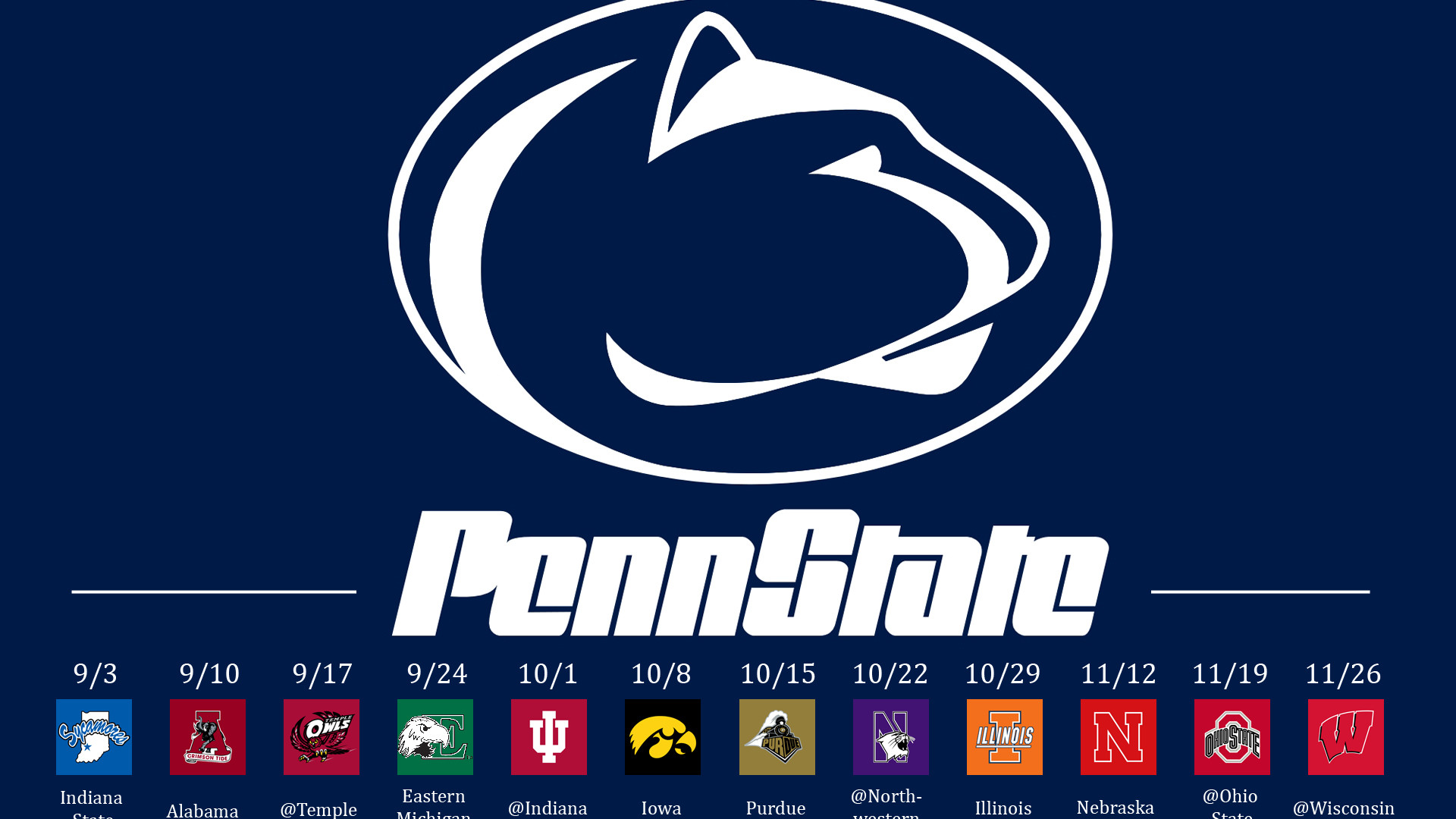 Hd Wallpapers Penn State University Logo 1920 X 1200 487 Kb Jpeg   HD .